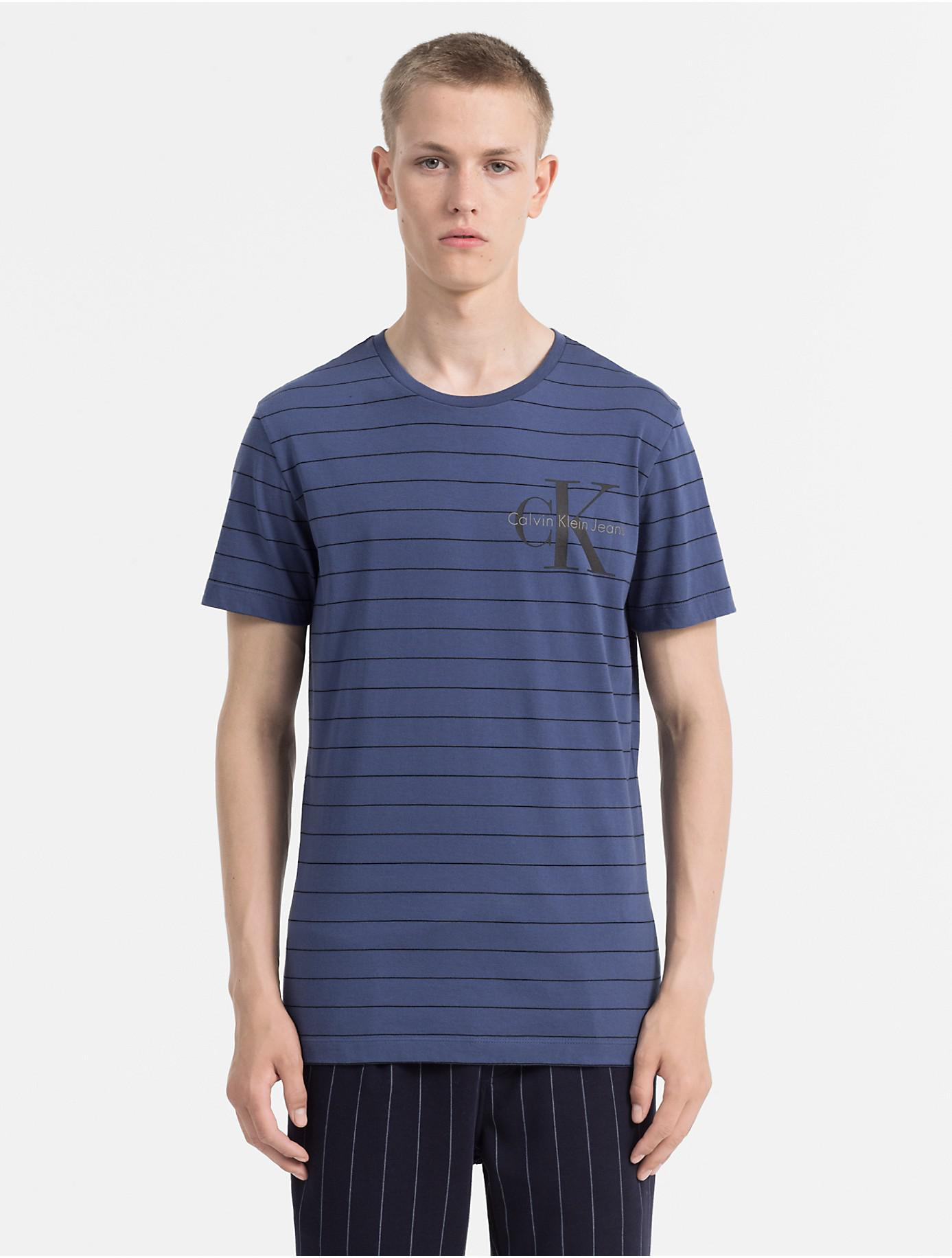 Slim Organic Cotton T-shirt Calvin Klein Discount Collections Cheap Price In China Discount New Arrival Free Shipping Sast Great Deals Cheap Online YLxQD7BWE