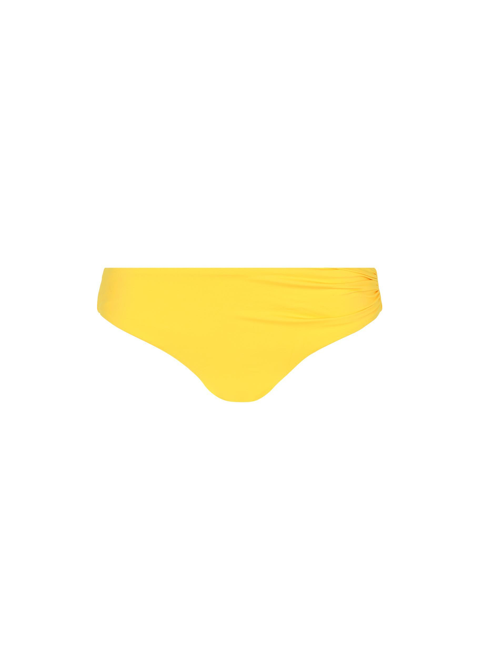 78aa6f411f Lyst - Calzedonia Indonesia High Waist Bikini Bottoms in Yellow
