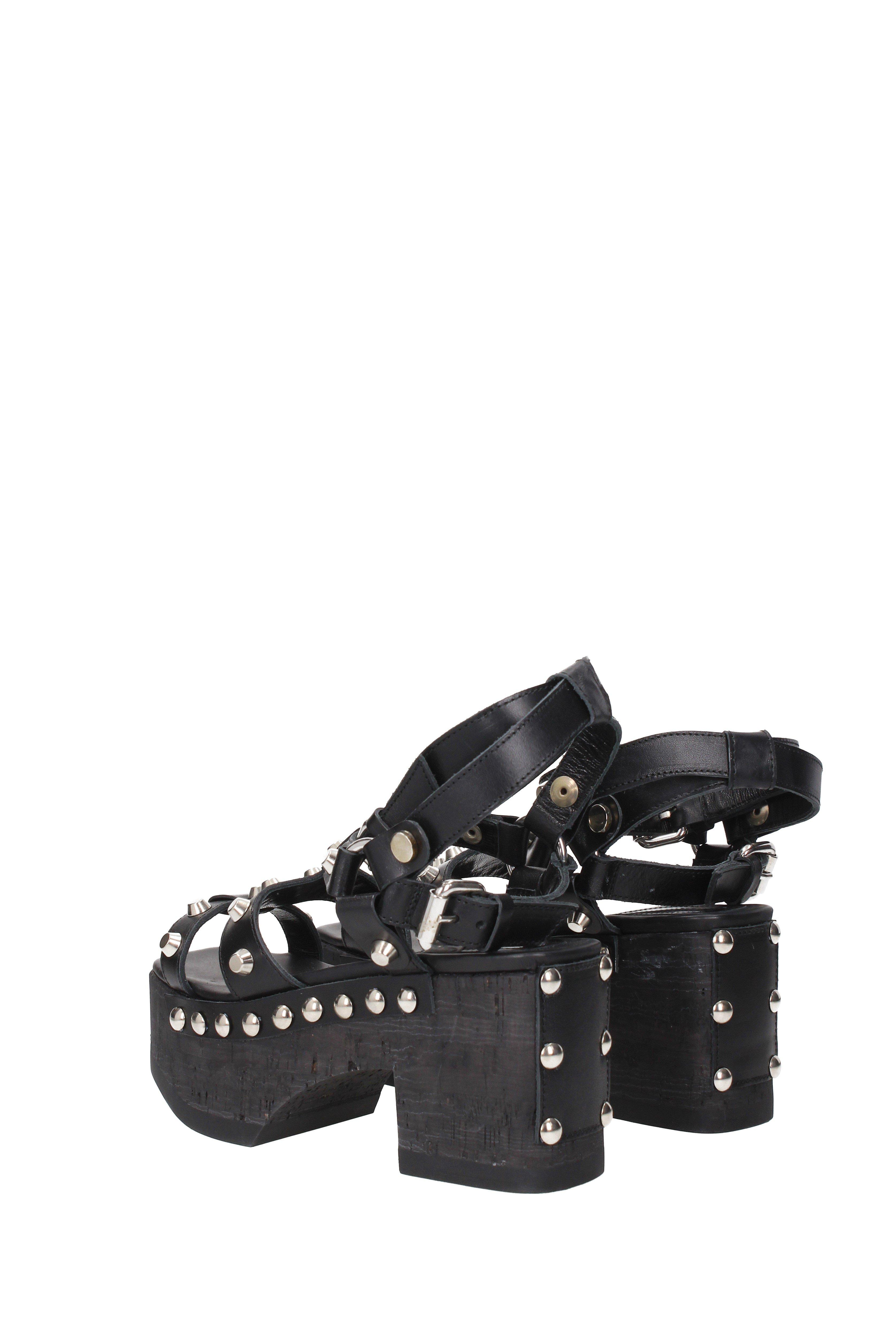 41223c15e000 Alexander McQueen - Sandals Paloma Gladiator Women Black - Lyst. View  fullscreen