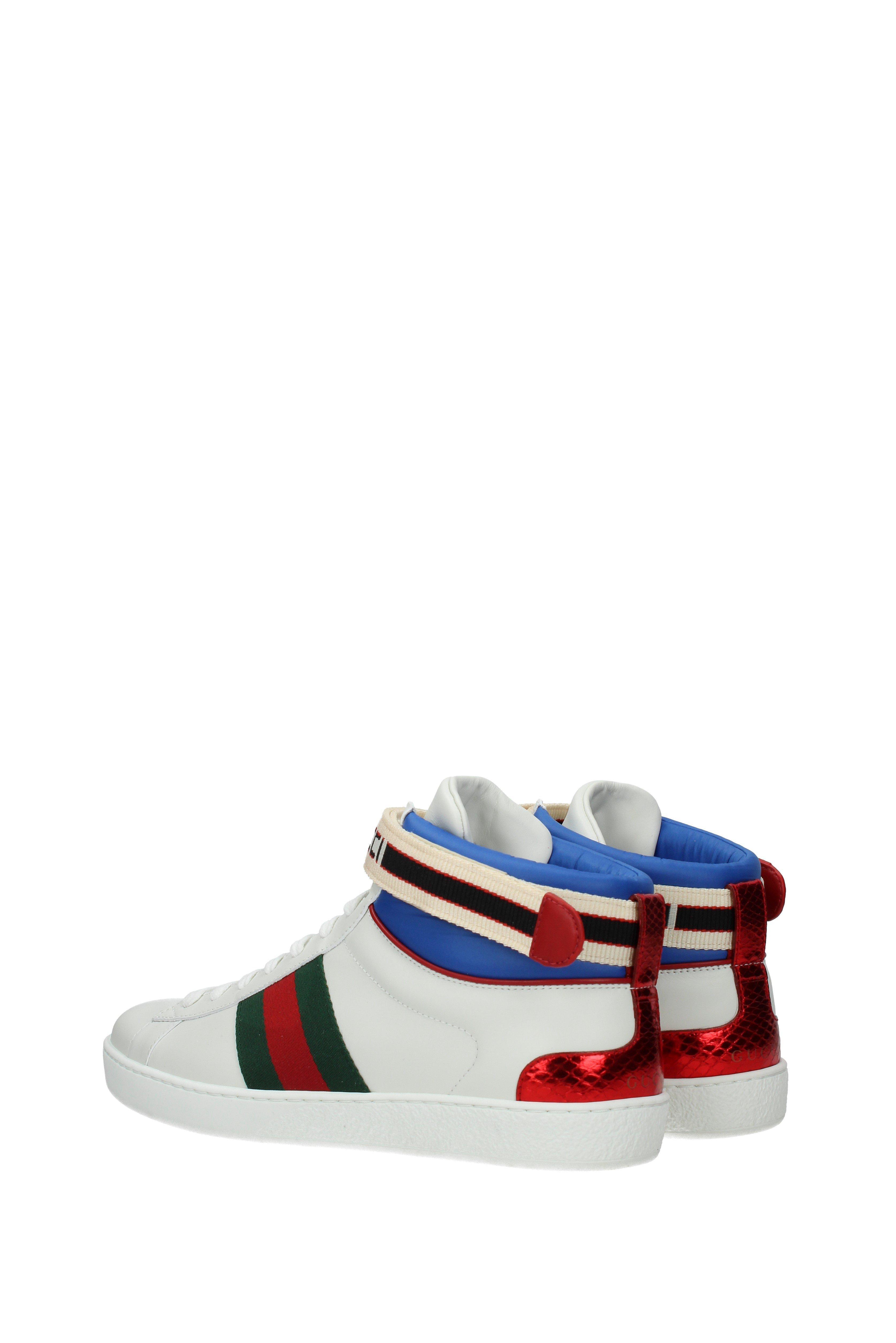 12327142fc6 Lyst - Gucci Sneakers Men White in White for Men