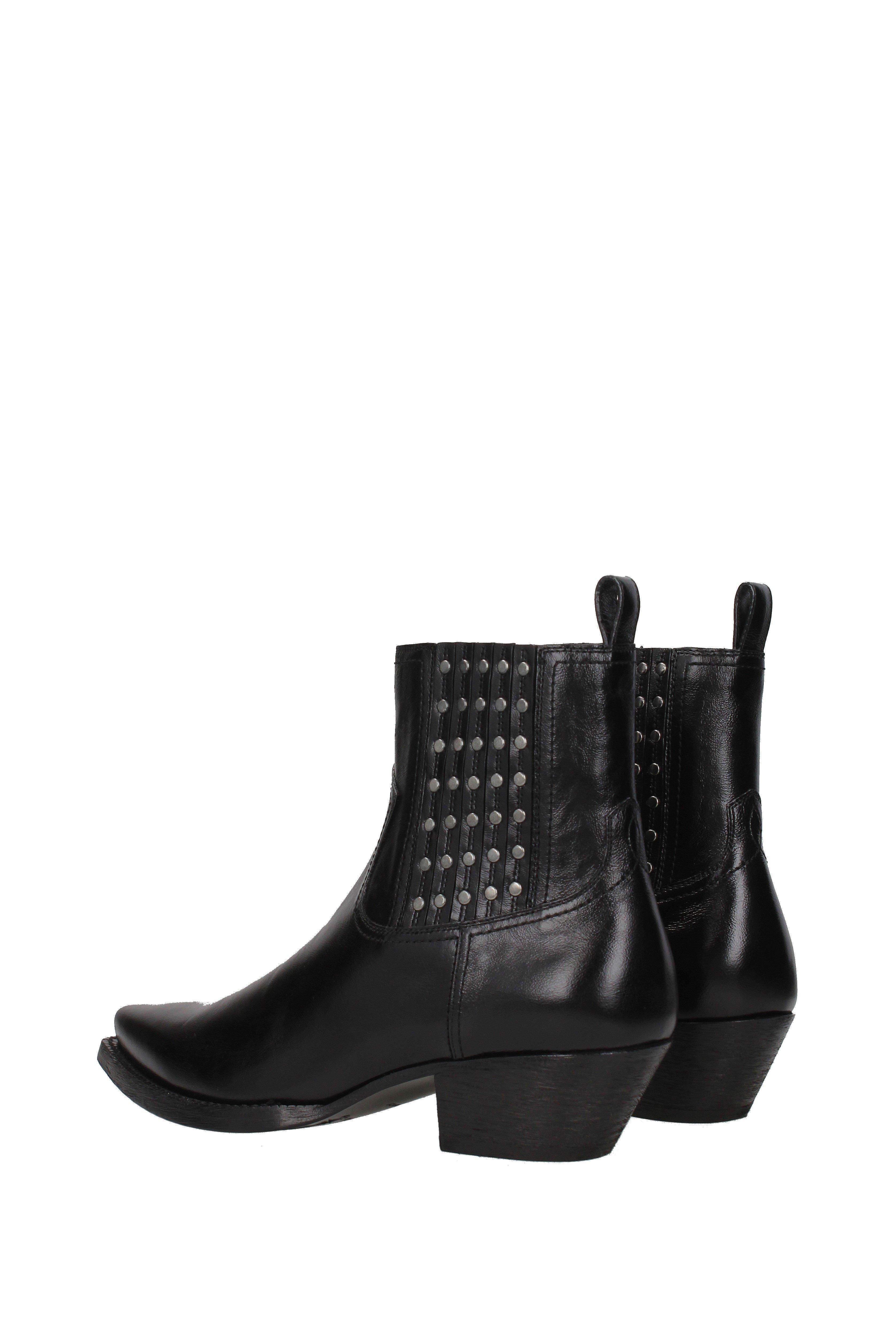c94c3824807 Saint Laurent - Ankle Boots Houston Men Black for Men - Lyst. View  fullscreen