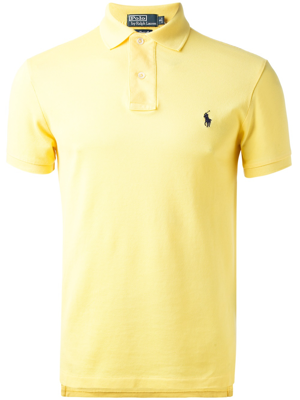 Polo Ralph Lauren Classic Polo Shirt In Yellow For Men Lyst