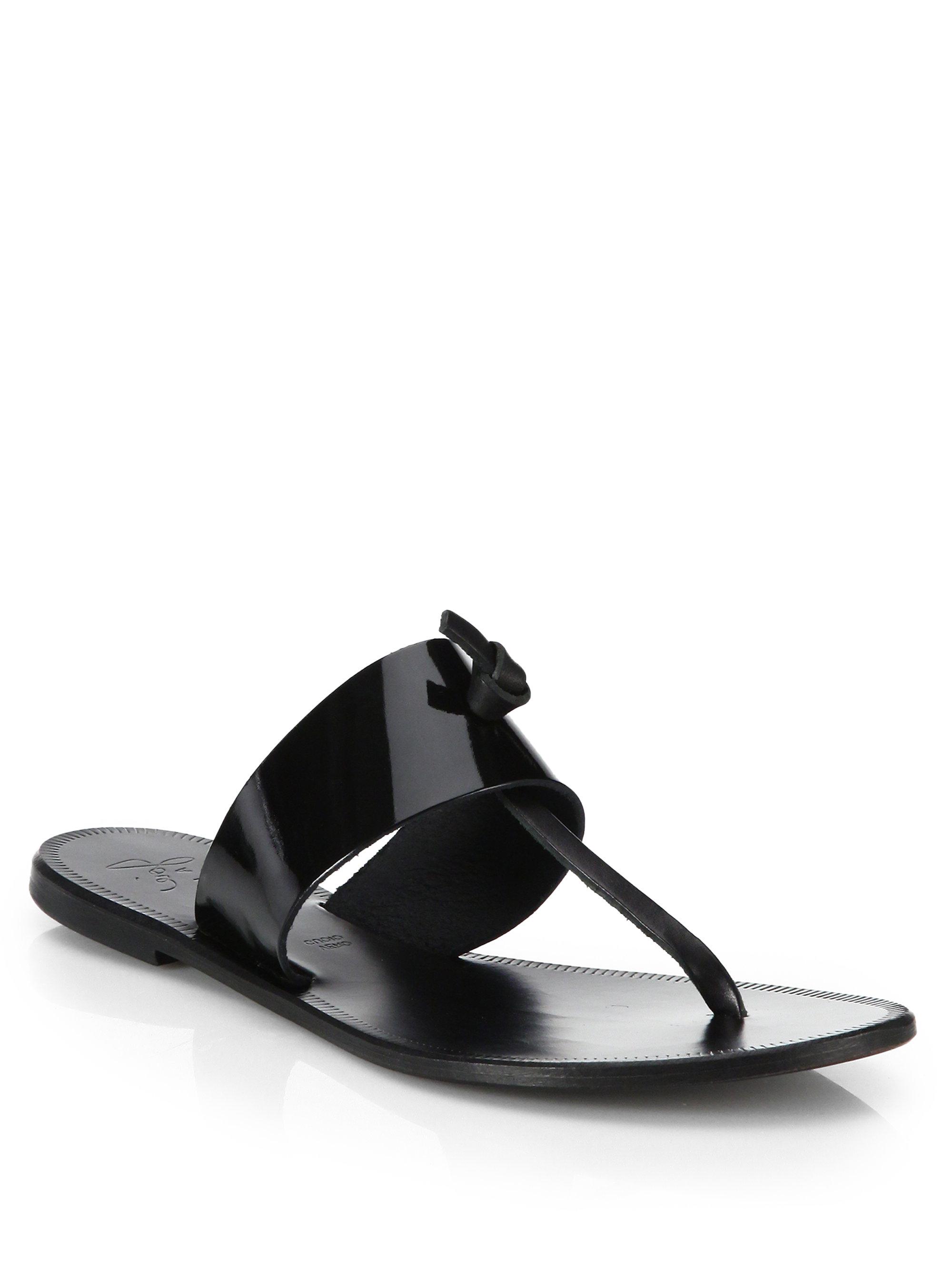 Topshop Black Patent Shoes
