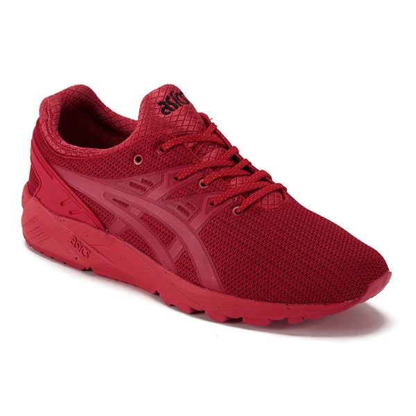 red asics trainers womens