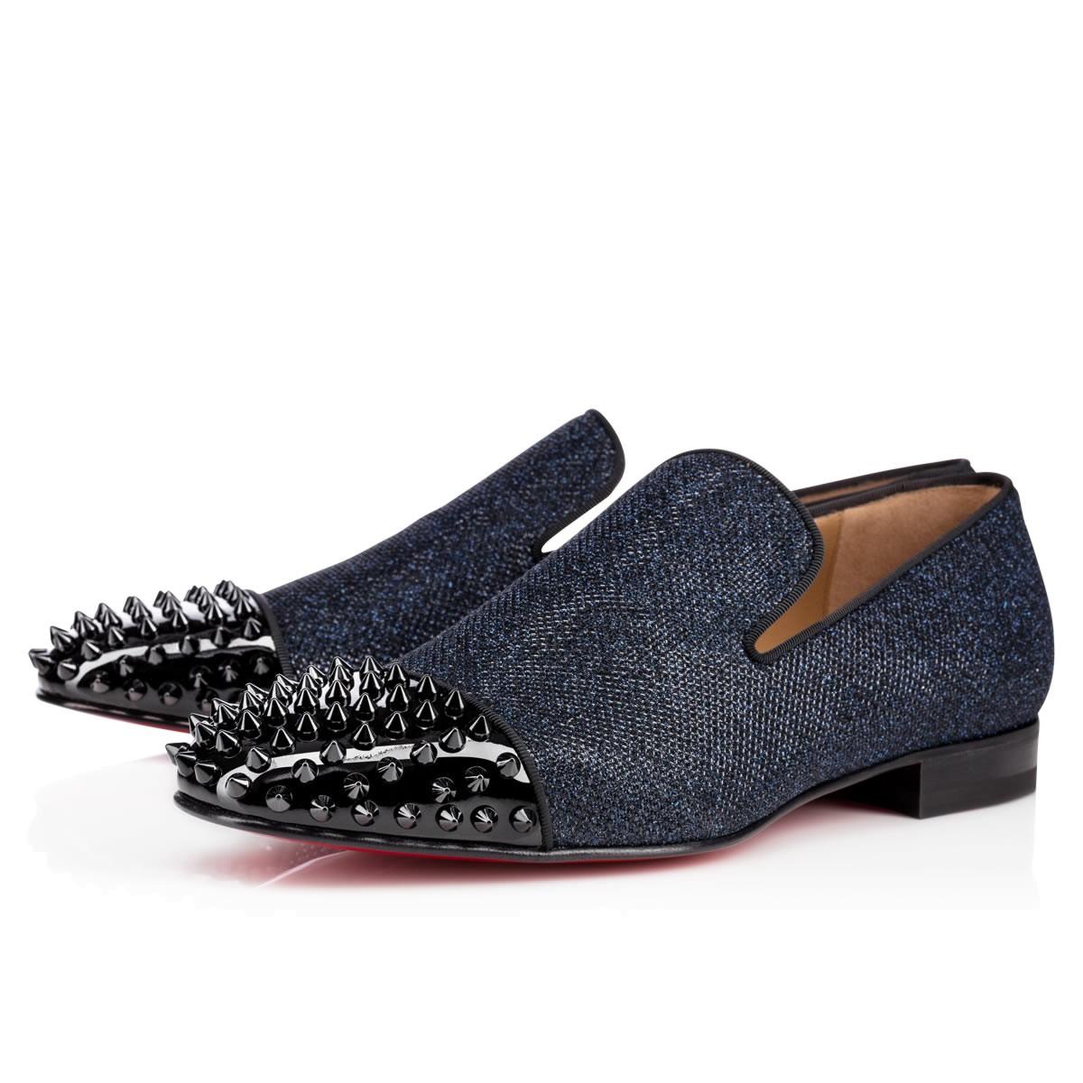 christian louis vuitton heels - Christian louboutin Spooky Flat in Blue for Men | Lyst
