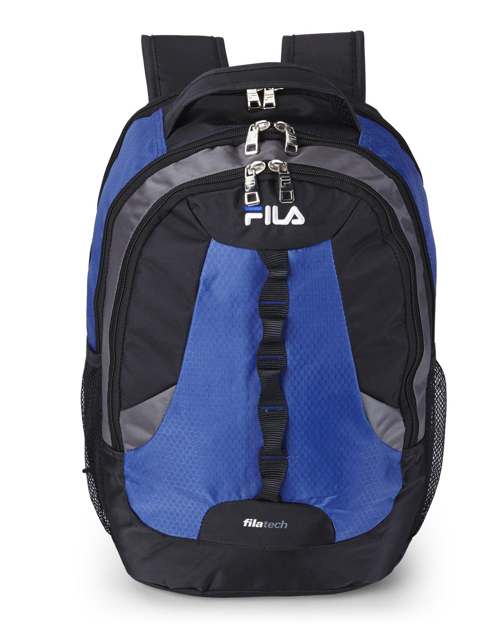 Lyst - Fila Navy Striker Backpack in Blue