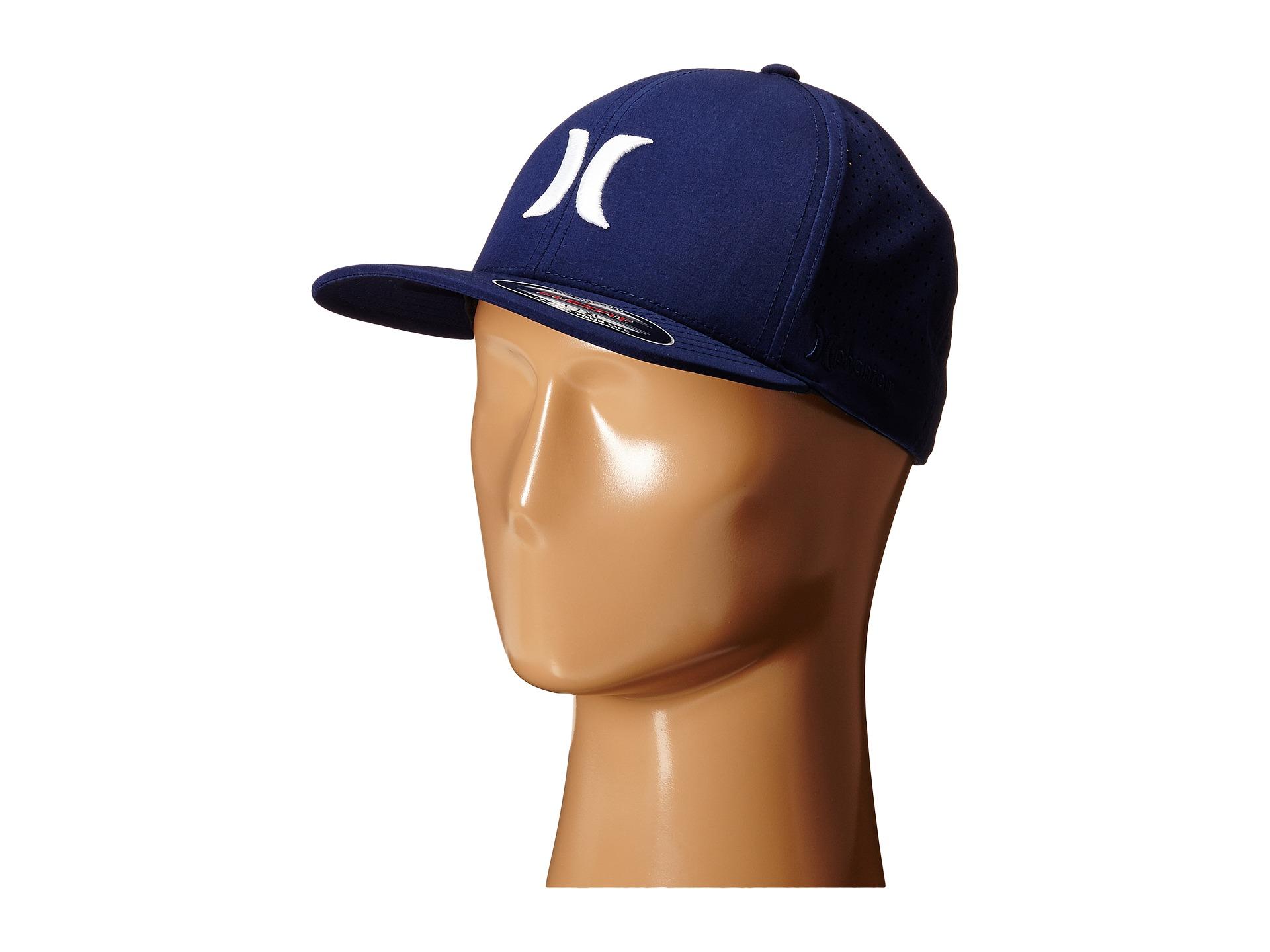 ... cheapest lyst hurley phantom vapor 2.0 fitted hat in blue for men 94c69  8534b 5cfa573de2af
