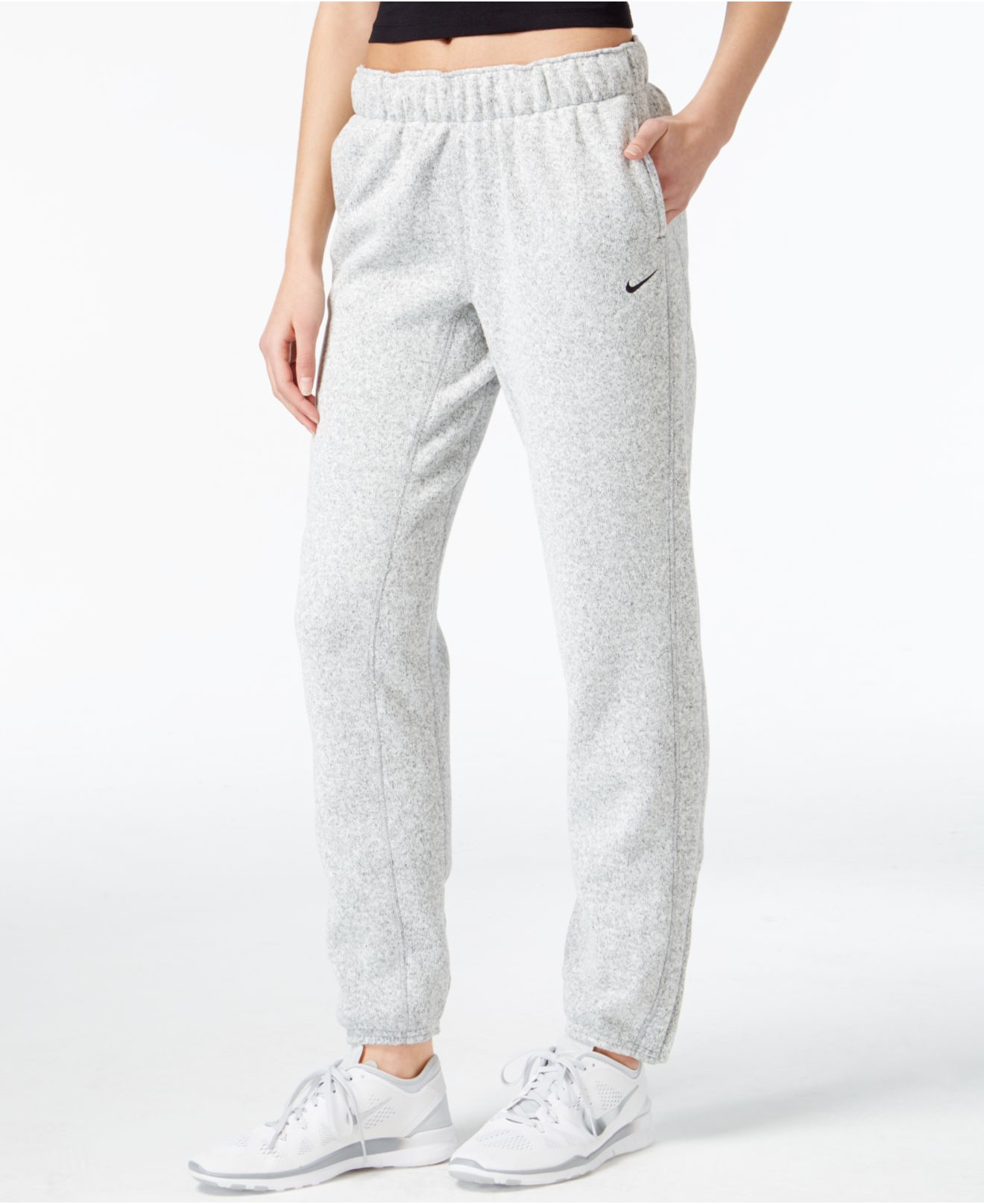 Nike Hypernatural Therma-fit Sweat Pants in Gray | Lyst