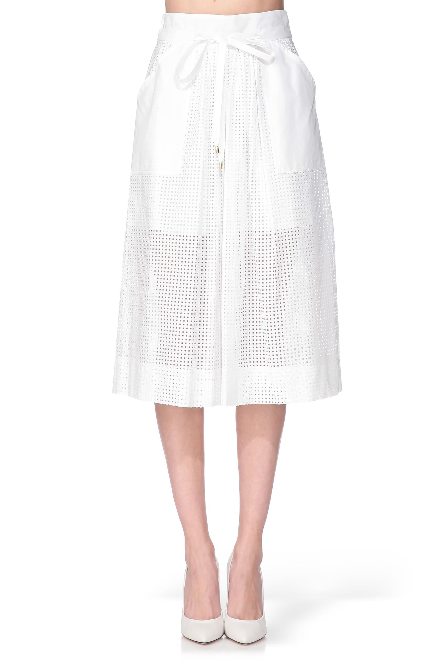 american retro midi skirt maxi skirt in white lyst