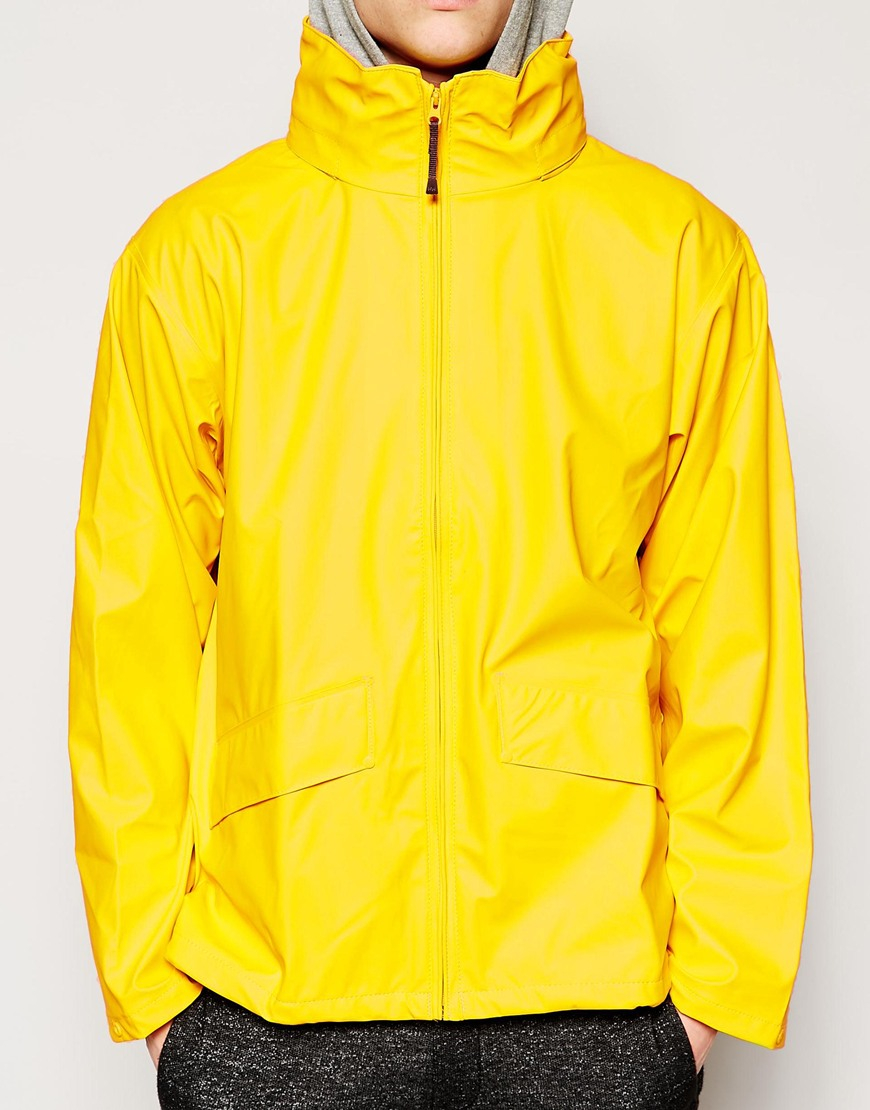 helly hansen voss jacket in yellow for men lyst. Black Bedroom Furniture Sets. Home Design Ideas