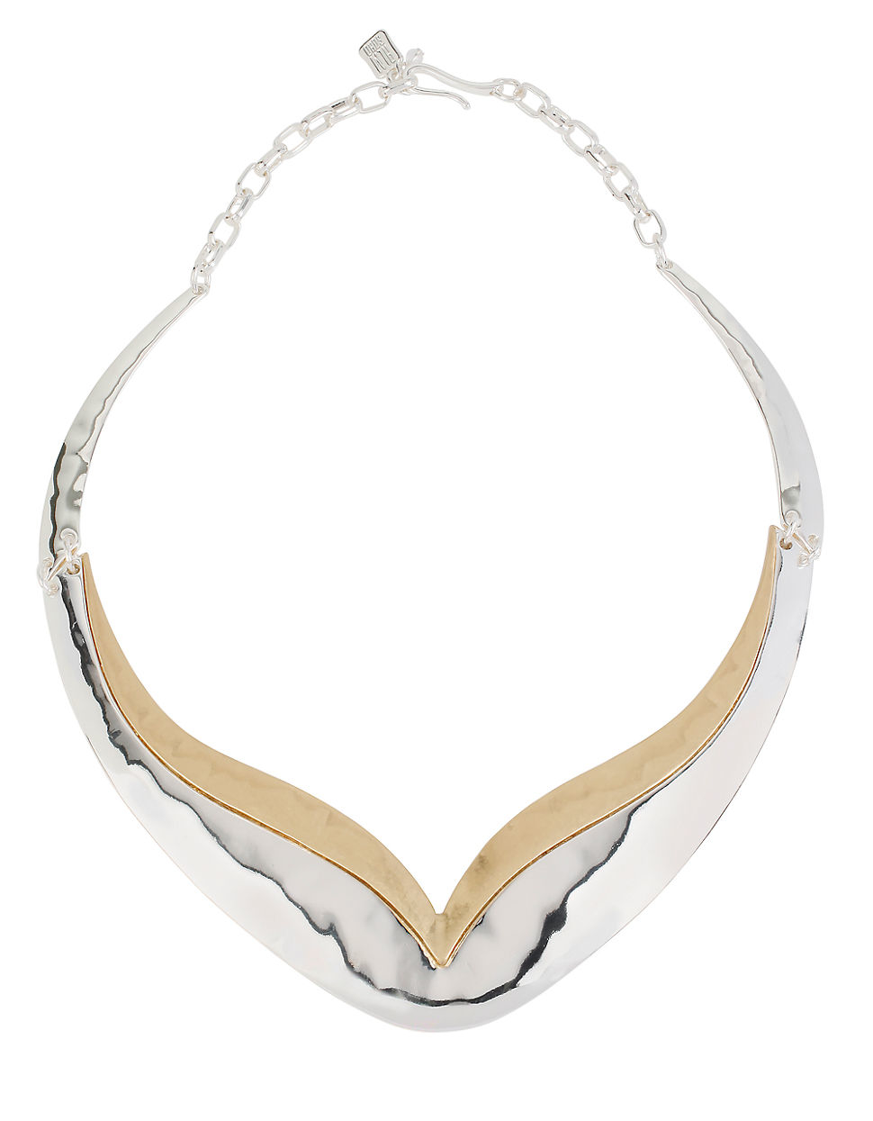 robert morris jewelry two tone wrapped hammered robert morris boho city hammered two tone collar