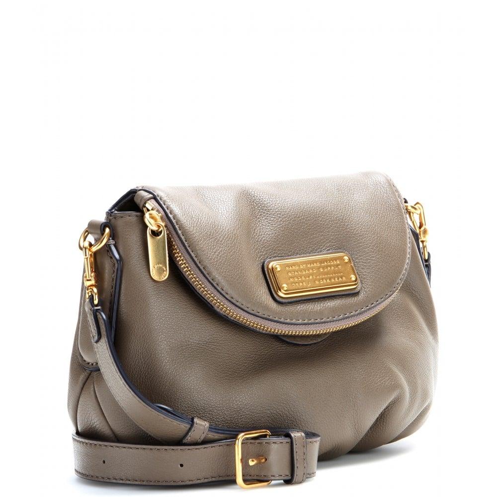 marc by marc jacobs mini natasha leather shoulder bag in. Black Bedroom Furniture Sets. Home Design Ideas