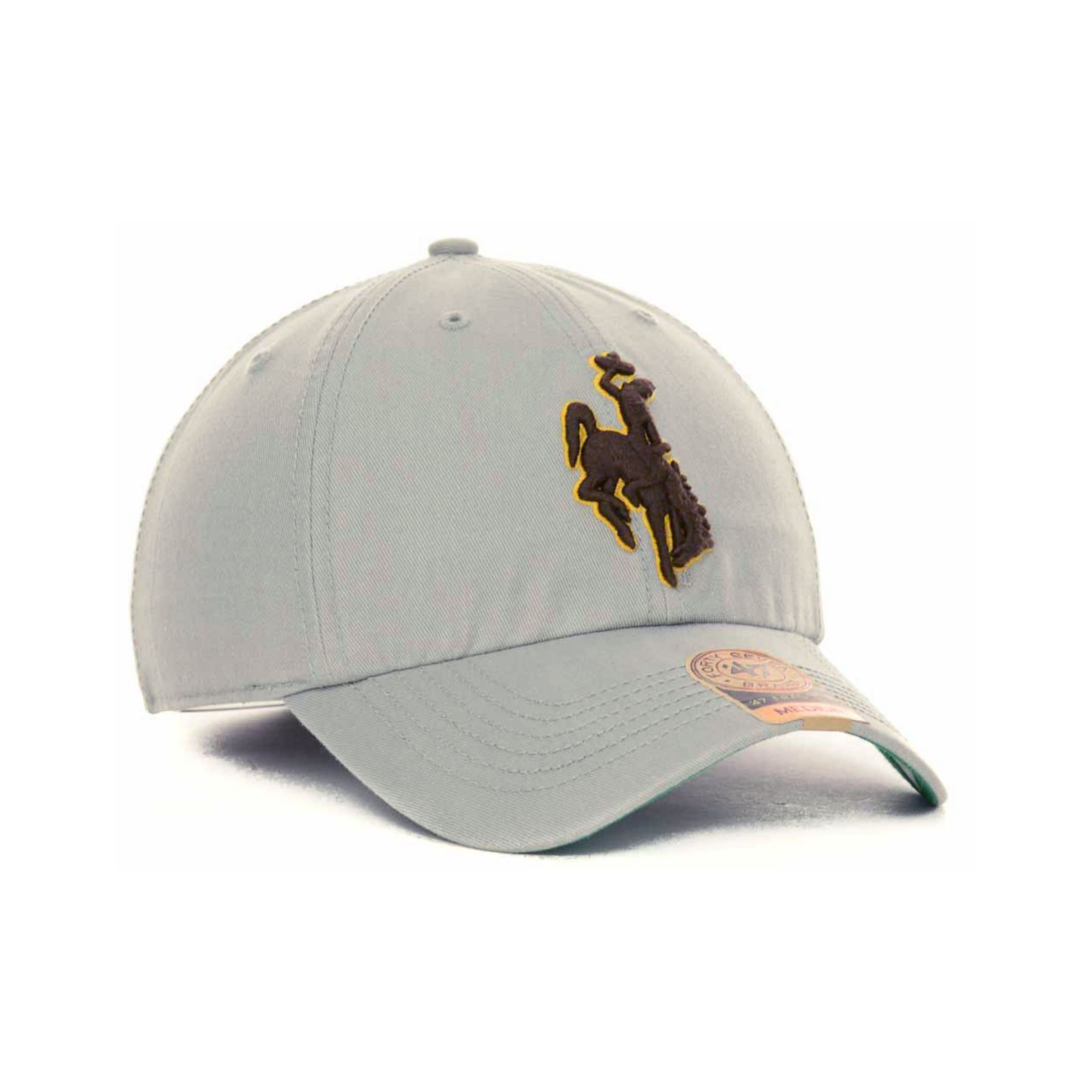 f74e8ae5e72 Lyst - 47 Brand Wyoming Cowboys Ncaa 47 Grey Franchise Cap in Gray ...