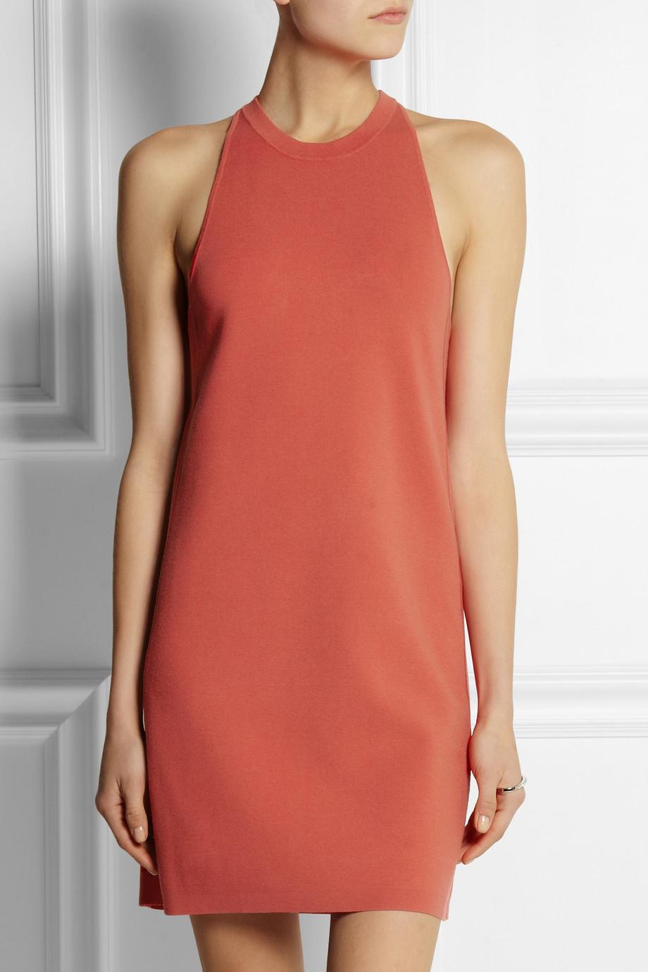 Theory Red Dress - Jill Dress