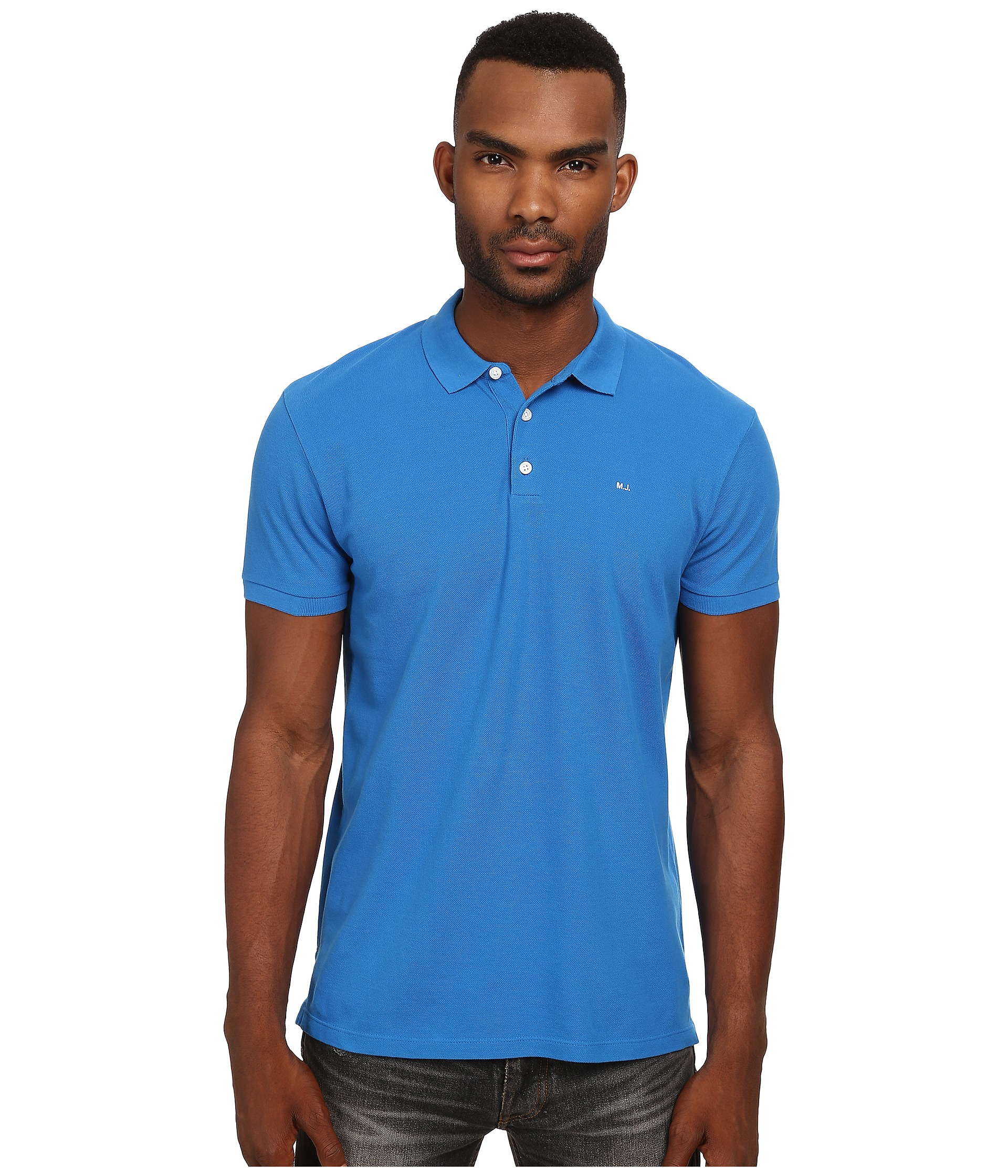 1d9893ec7a1ce Lyst - Marc By Marc Jacobs Logo Polo in Blue for Men