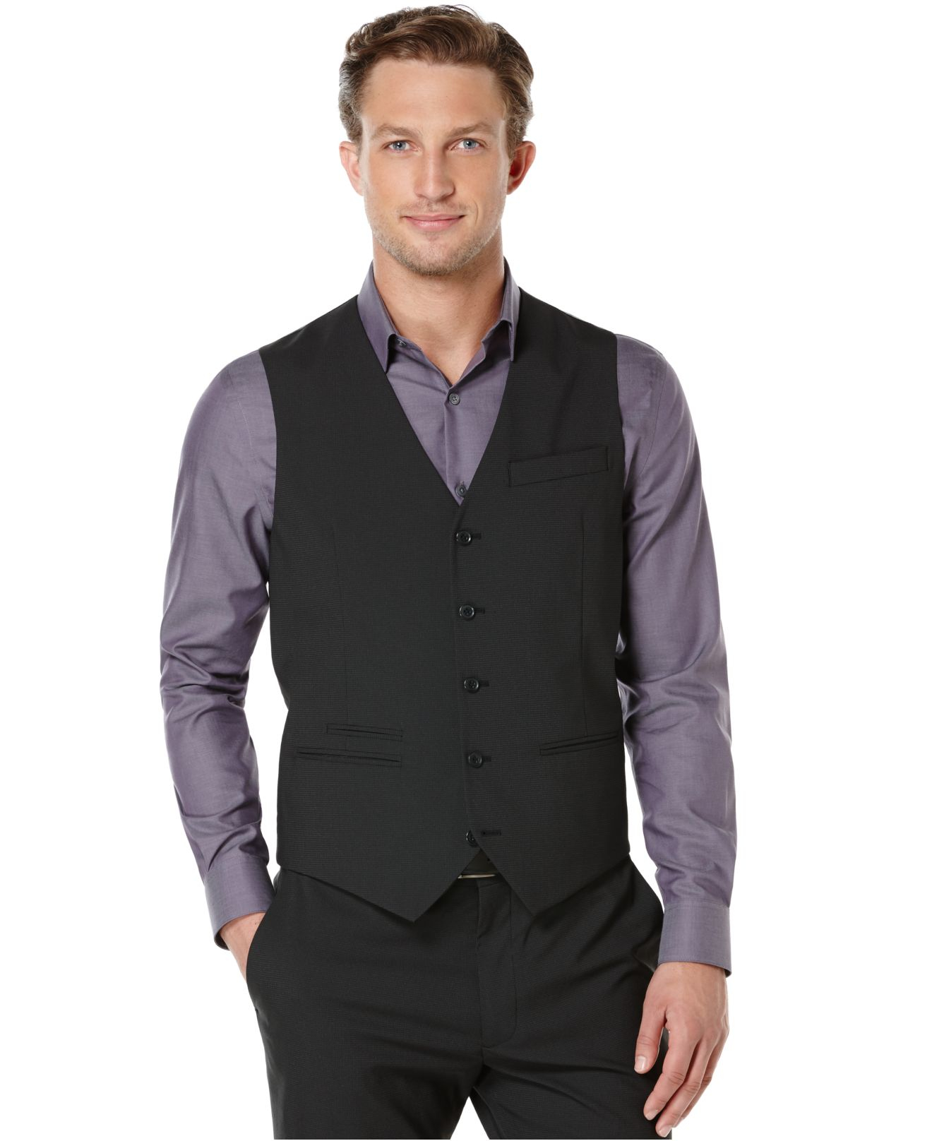 Black Suit With Vest Black Pictures to Pin on Pinterest - PinsDaddy