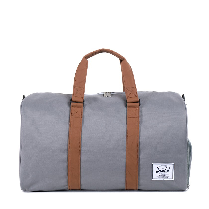 Gym Bag Herschel: Herschel Supply Co. Grey Novel Duffel Bag In Gray For Men