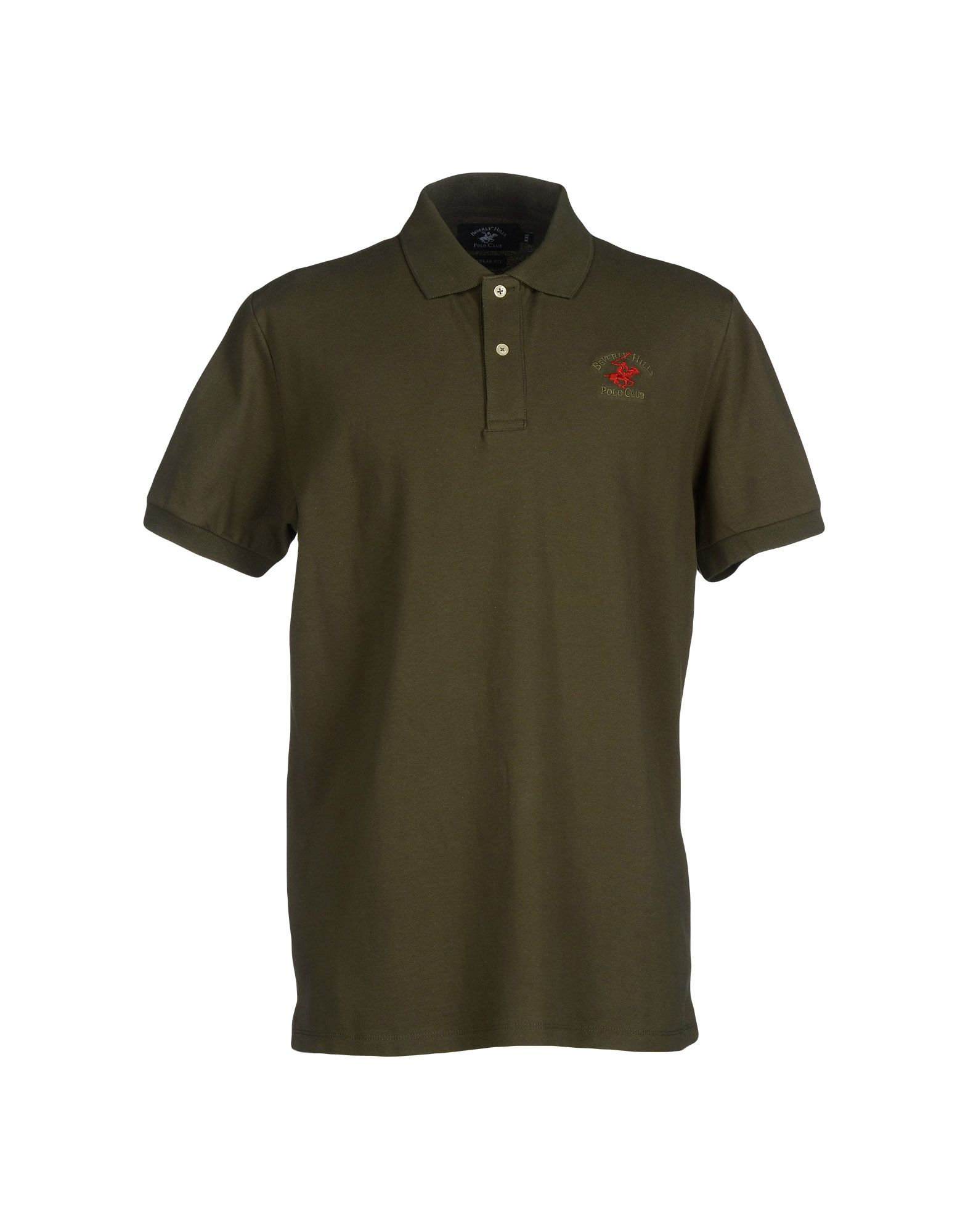 Beverly Hills Polo Club Polo Shirt In Green For Men