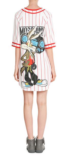 Moschino Baseball Jersey T-shirt Dress