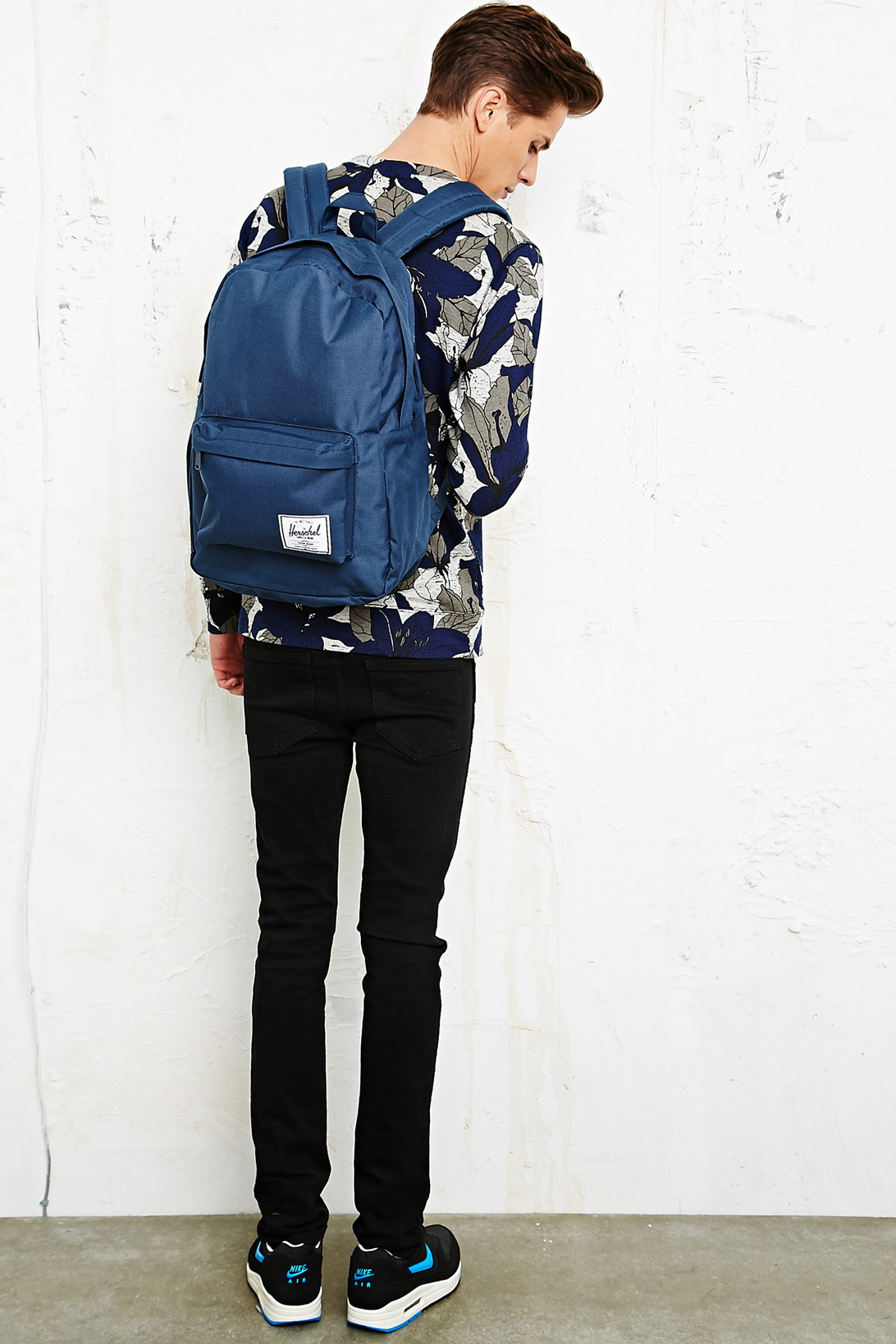 1df6ce6ee3 Dr. Denim Herschel Classic 21L Backpack in Navy in Blue for Men - Lyst