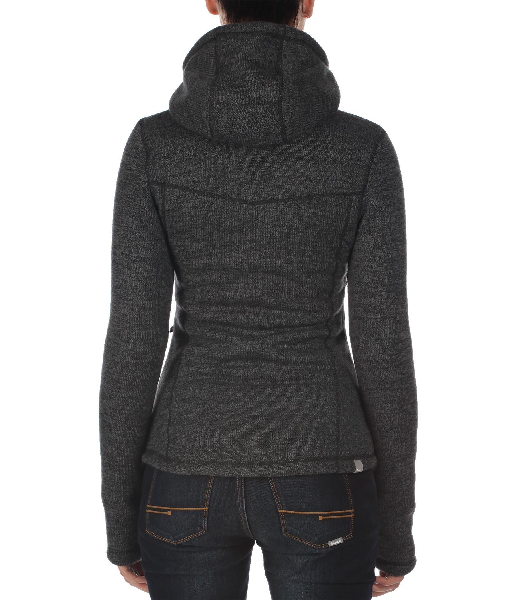 Bench Bonded Fire Ii Zip Up Hoodie In Black Lyst