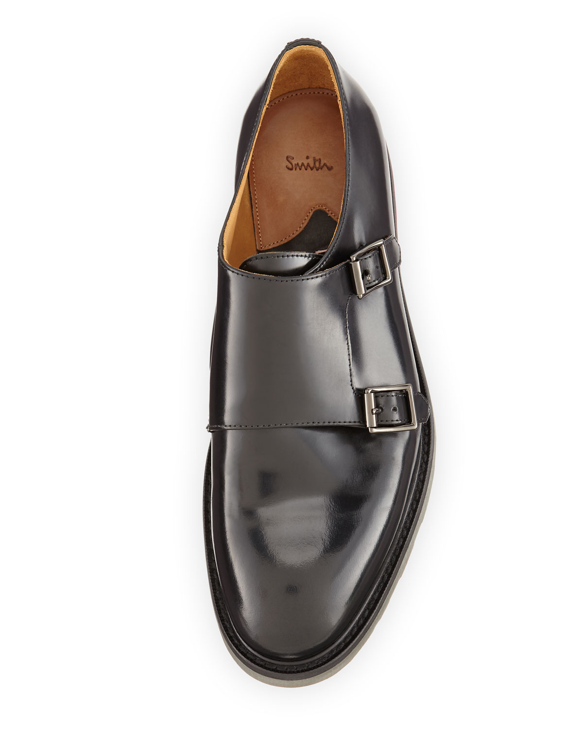 Paul Smith Buckle Leather Loafers cheap sale new styles olzU3sfg