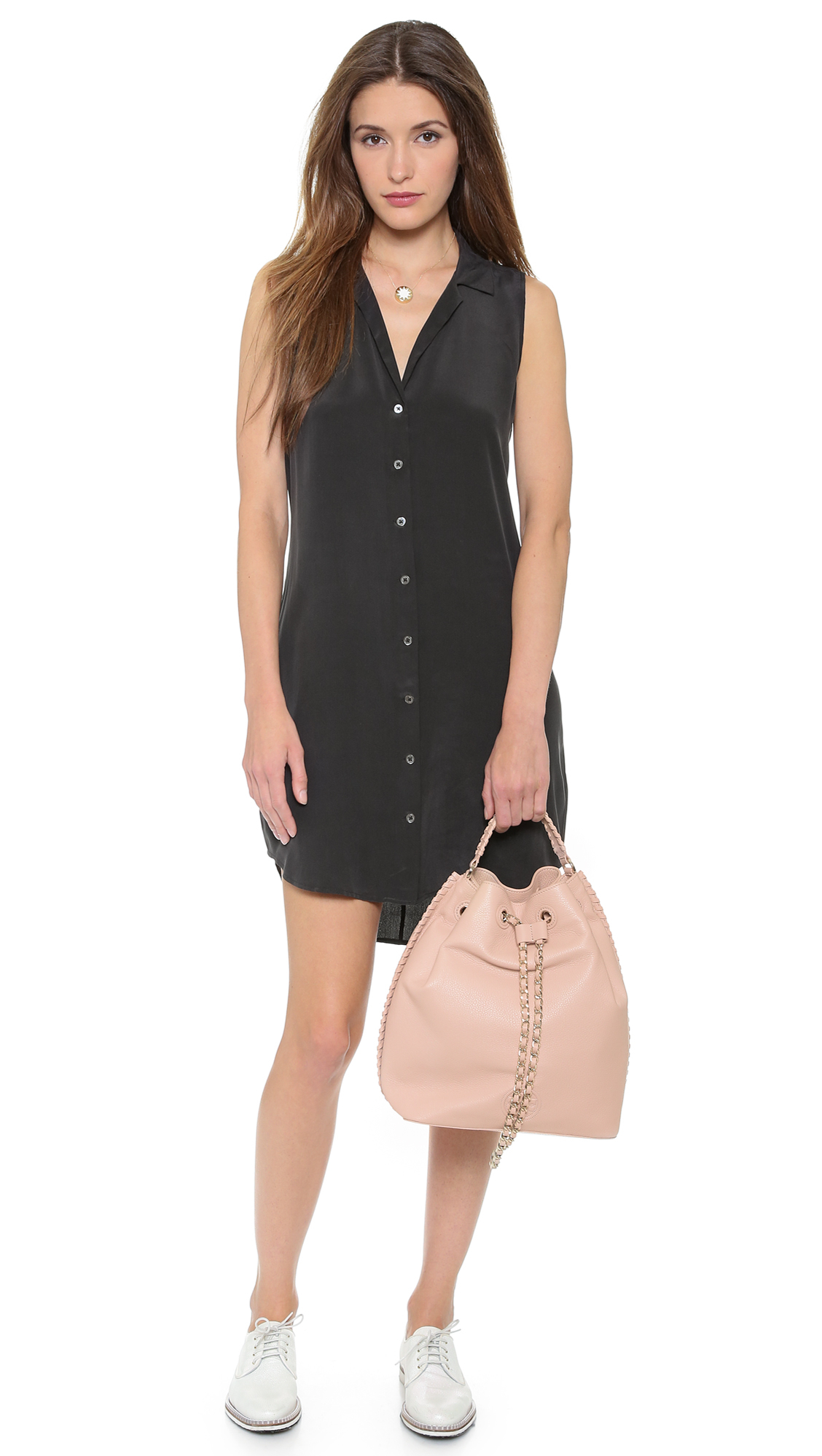 Lyst - Tory burch Marion Bucket Backpack