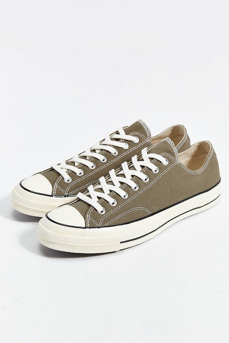 c7a9dc8b6efb Lyst - Converse Chuck Taylor All Star 70S Low-Top Sneaker in Green ...