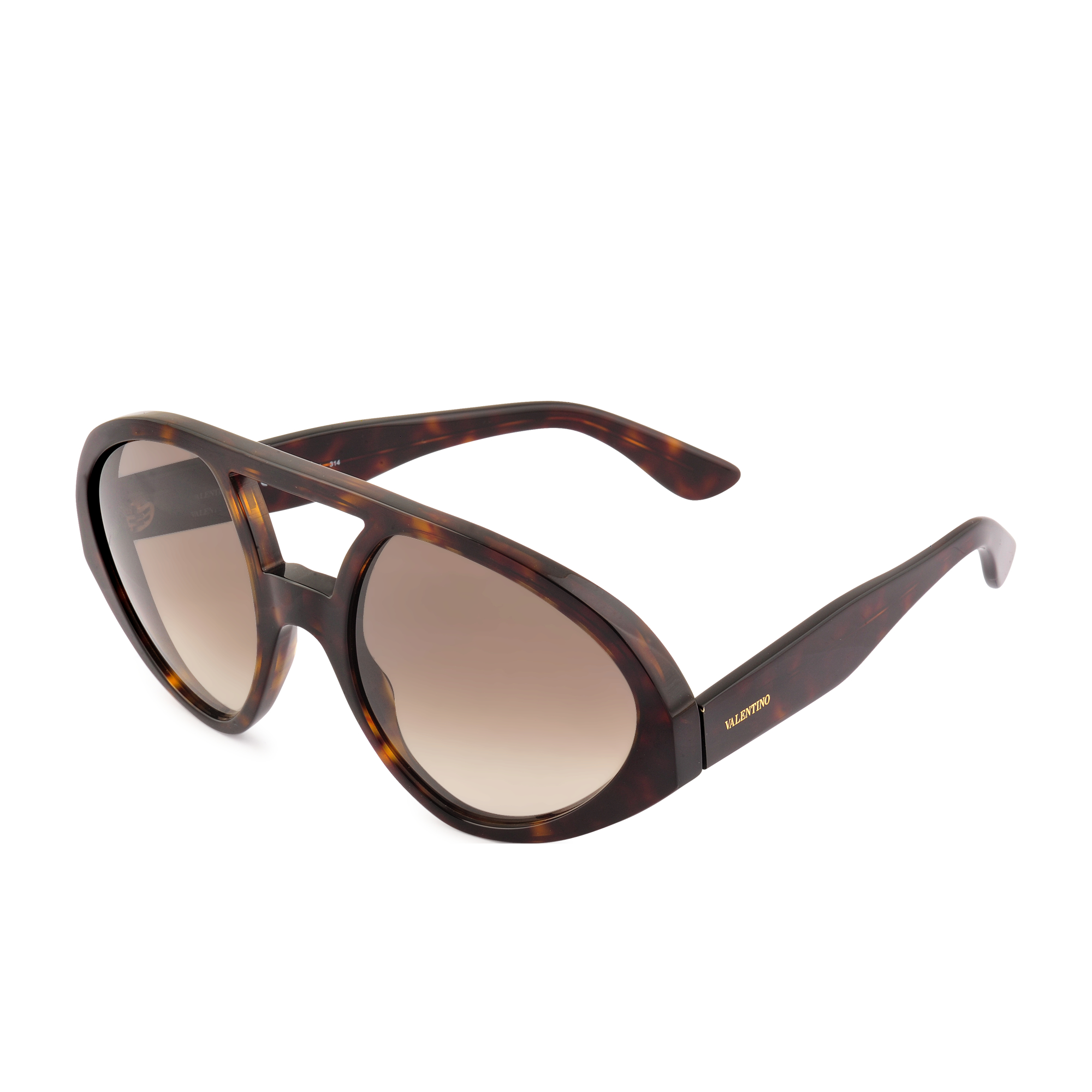 Valentino Glasses Frames 2015 : Valentino V708s Sunglasses in Brown Lyst
