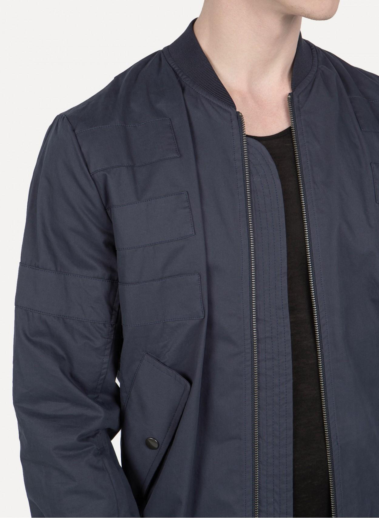 Doma leather bomber jacket