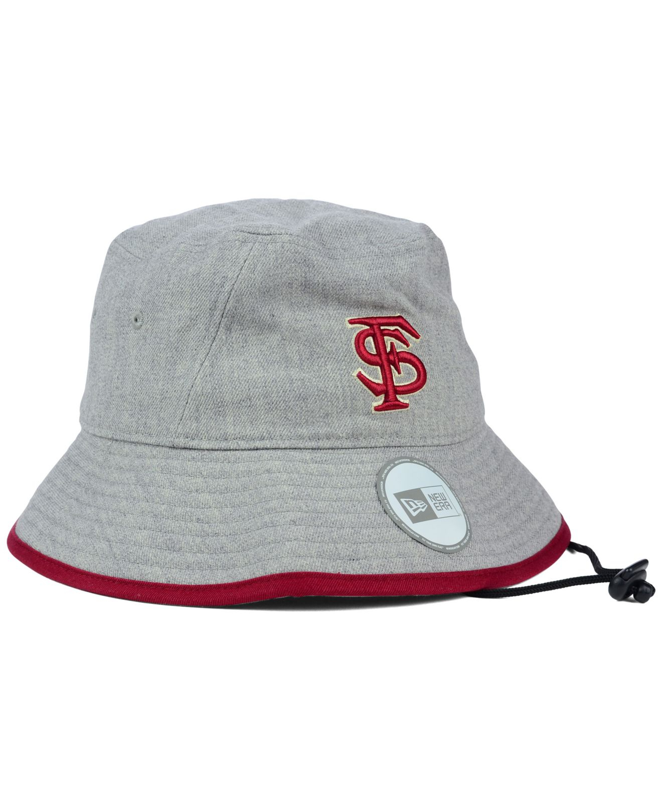 a3364a0a2af Lyst - KTZ Florida State Seminoles Tip Bucket Hat in Gray