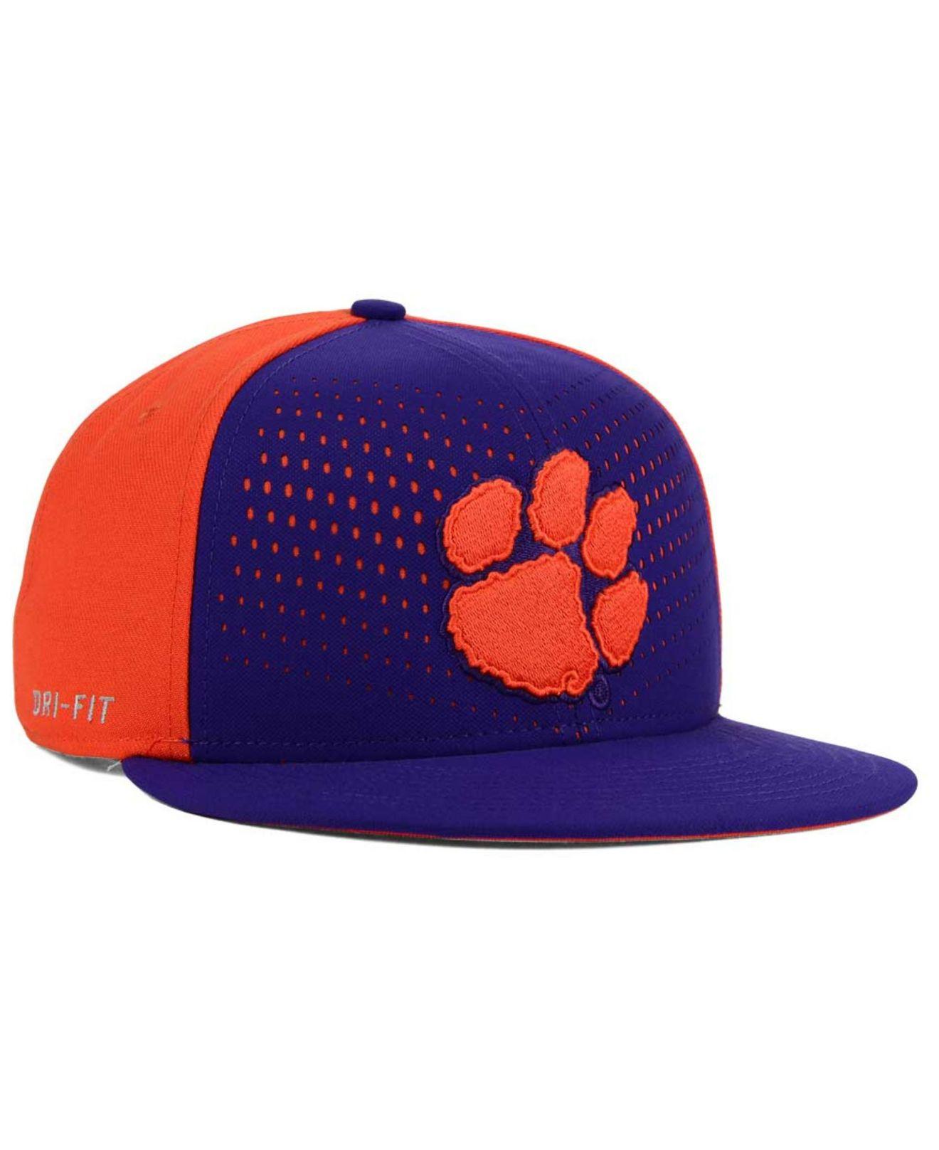 1f38b45cf93 ... usa lyst nike clemson tigers true seasonal snapback cap in purple for  men 70fe8 84c15