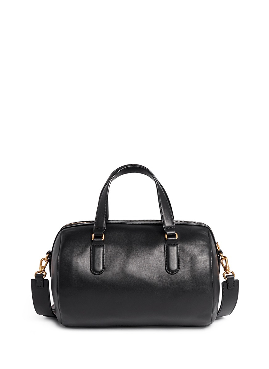 Marc By Marc Jacobs Luna Satchel Leather Duffle Bag In