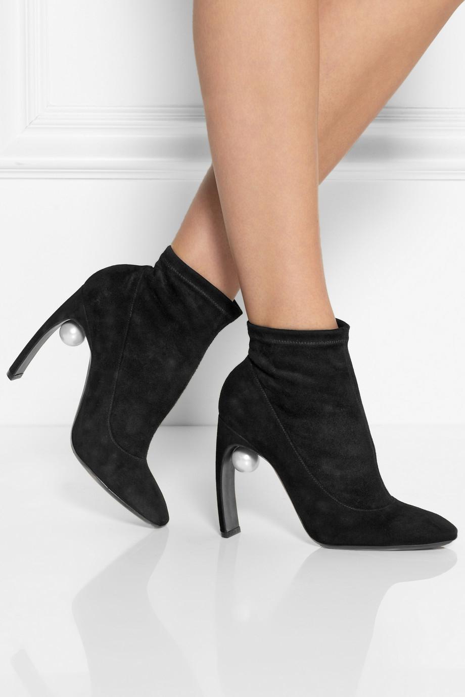 Nicholas Kirkwood Embellished Ankle Boots buy cheap fake EsuzKdPh