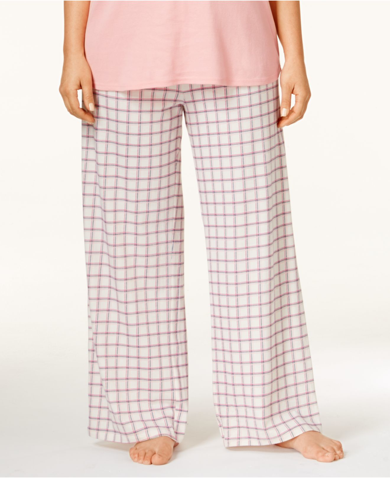 Tommy hilfiger Plus Size Pajama Pants in White | Lyst