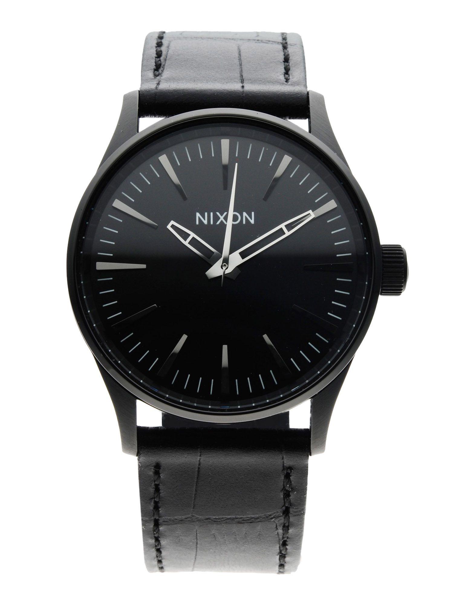 Lyst Nixon Wrist Watch In Black For Men