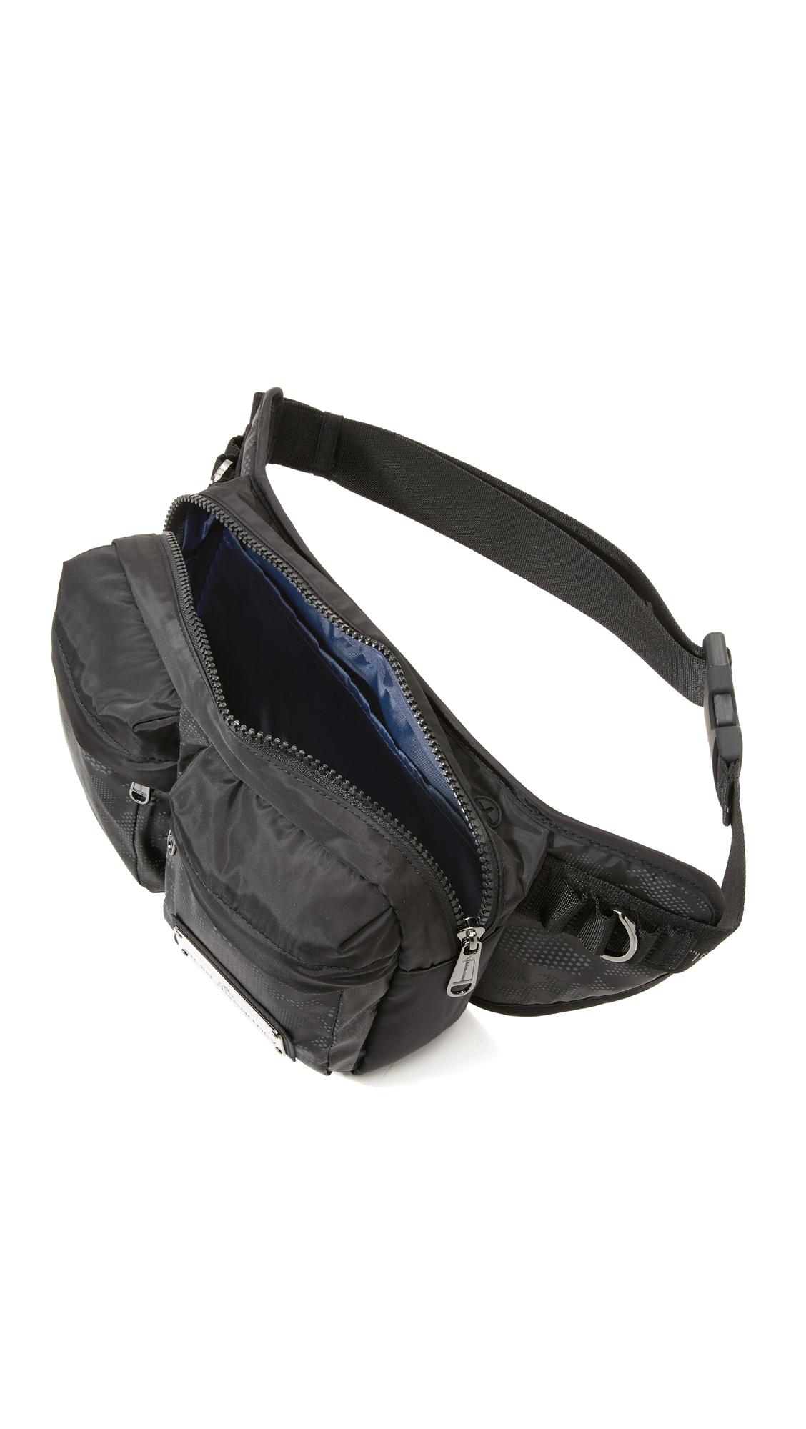 7786db5a87e0 Lyst - adidas By Stella McCartney Bum Bag in Black