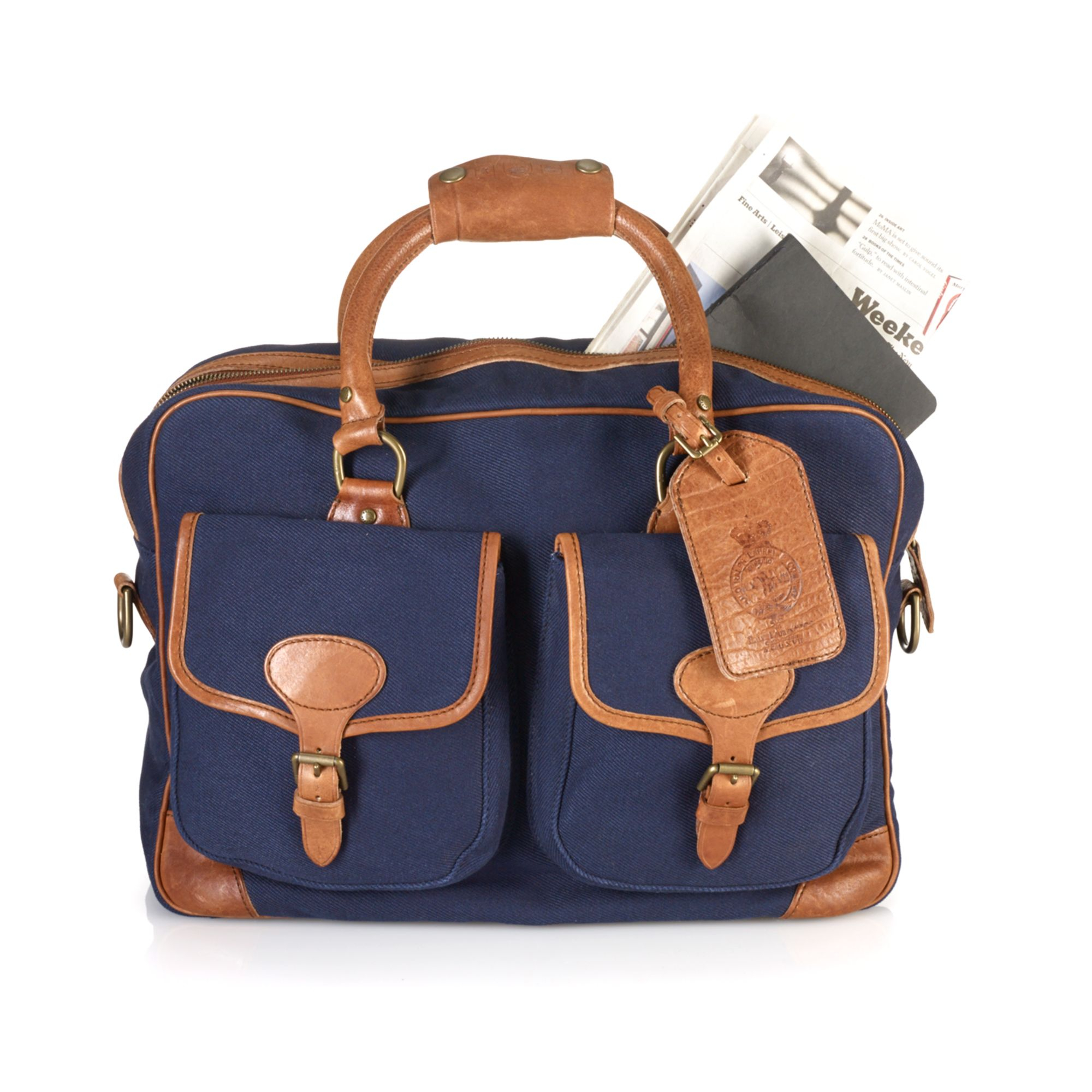 a4cbcec57a Lyst ralph lauren polo mens canvas commuter bag in blue for men jpg  2000x2000 Polo ralph