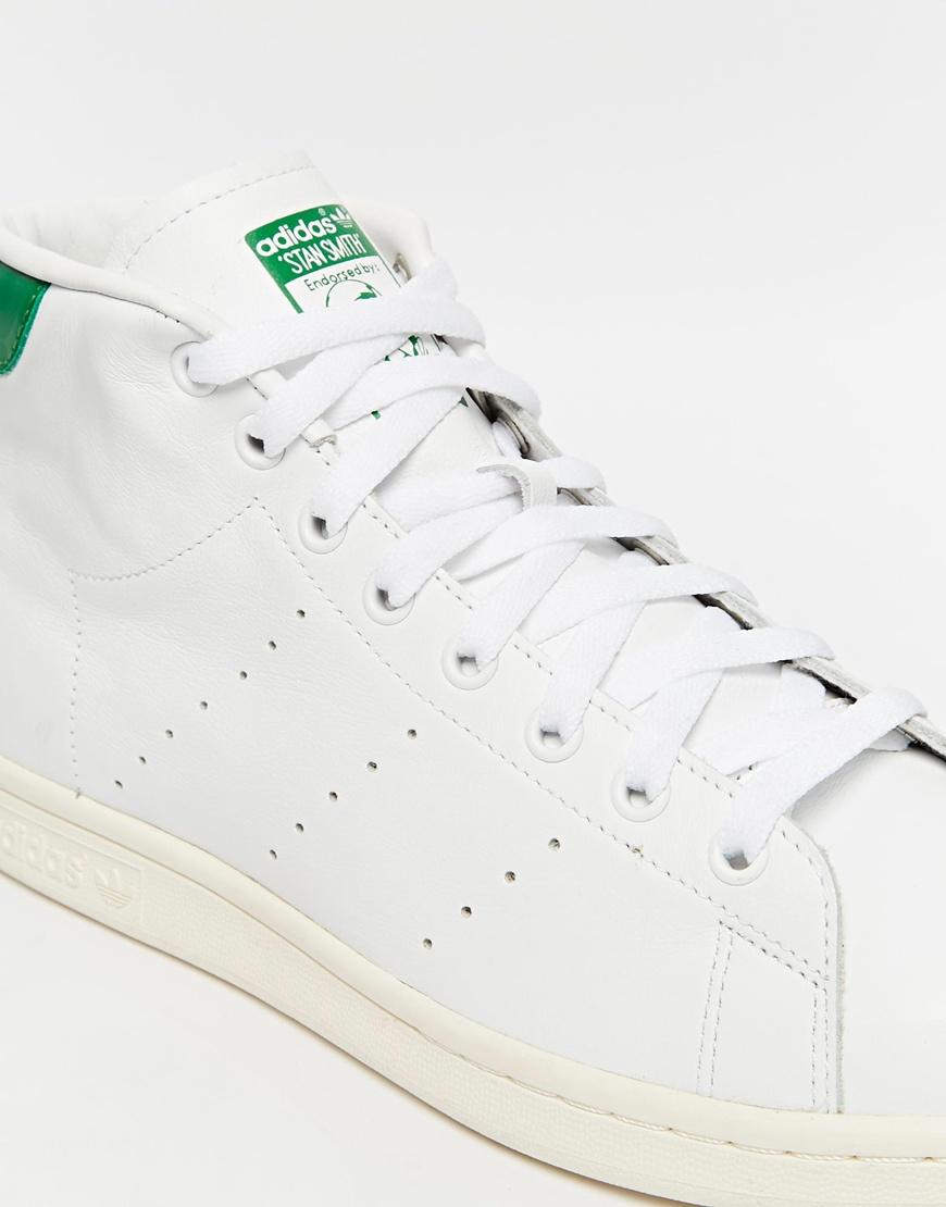 adidas originals mid trainers