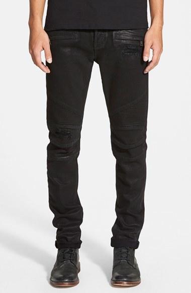 f7235b42650 Lyst - Hudson Jeans 'blinder Biker' Skinny Jeans in Black for Men