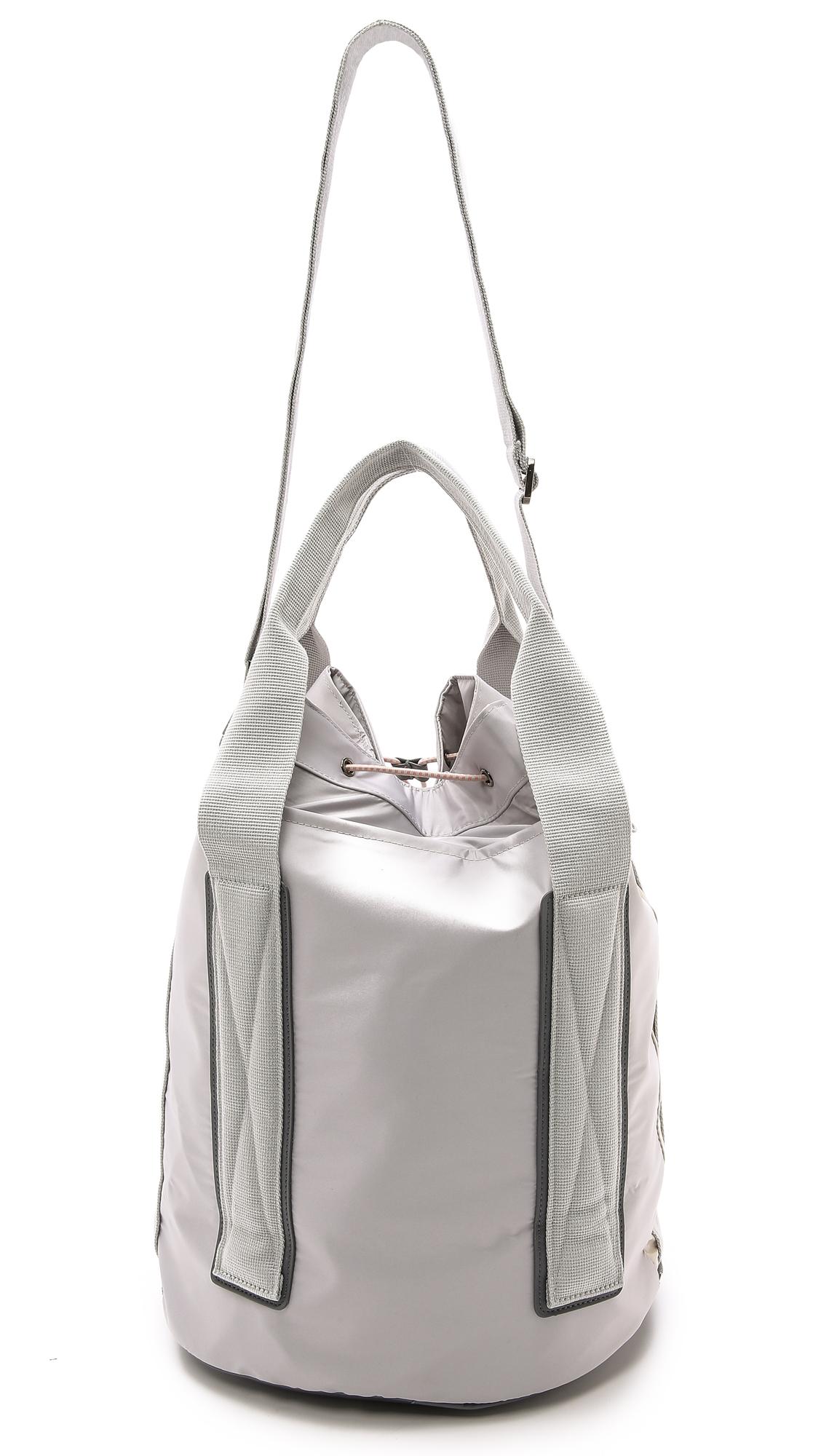 7c019ec29ea9 Lyst - adidas By Stella McCartney Tennis Bag - Glacial in Gray