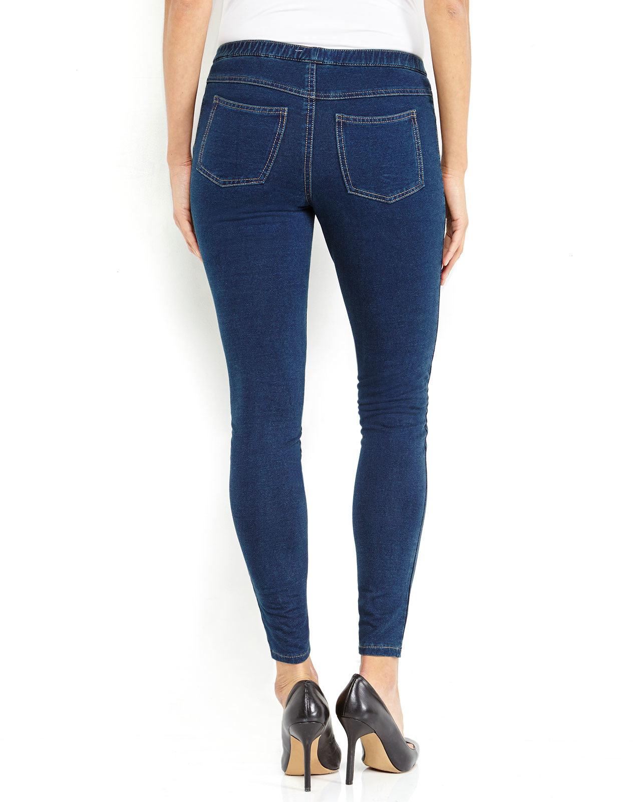 Hue Denim Leggings in Blue