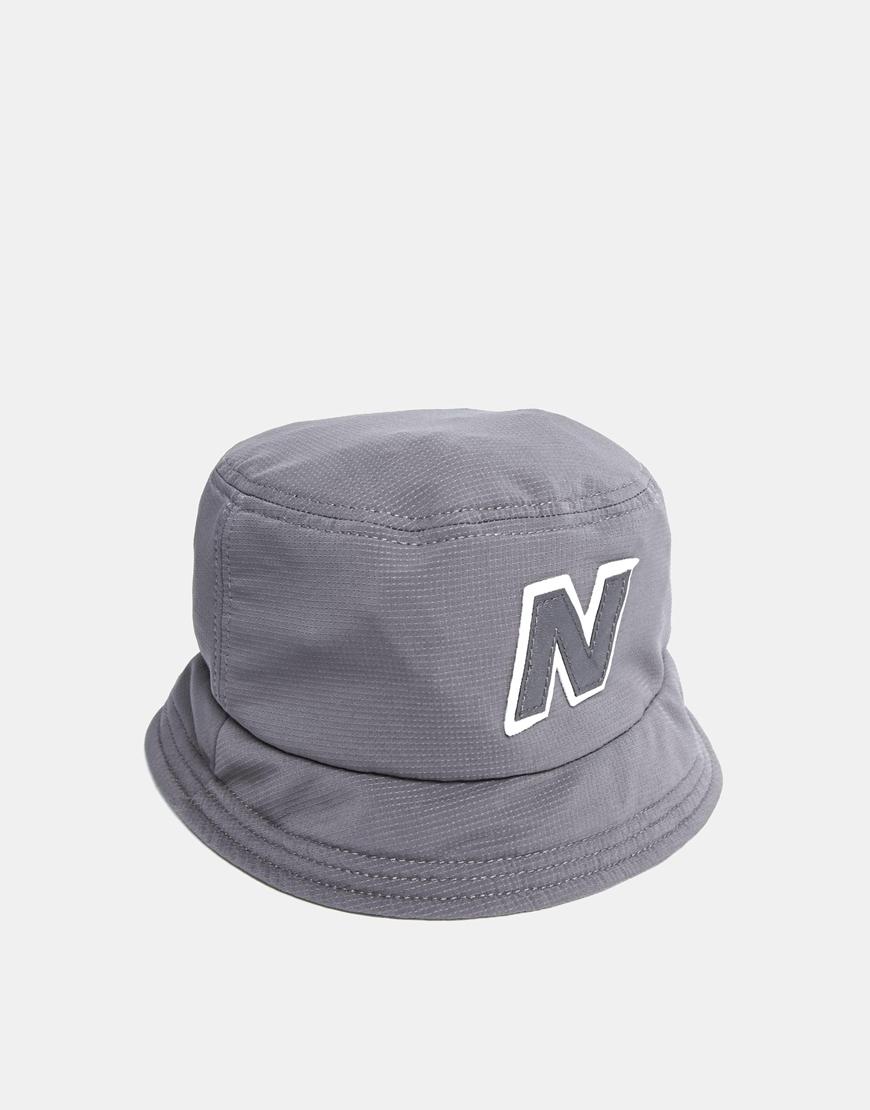 18ba3d505f6e9 New Balance Glasto Bucket Hat in Gray for Men - Lyst