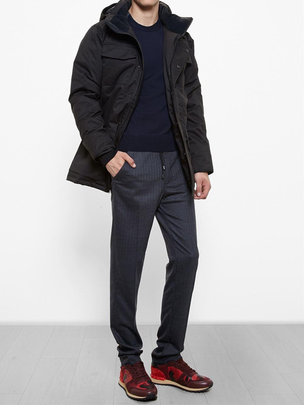 Canada Goose victoria parka sale fake - Canada goose 'branta Windermere' Coat in Black for Men | Lyst