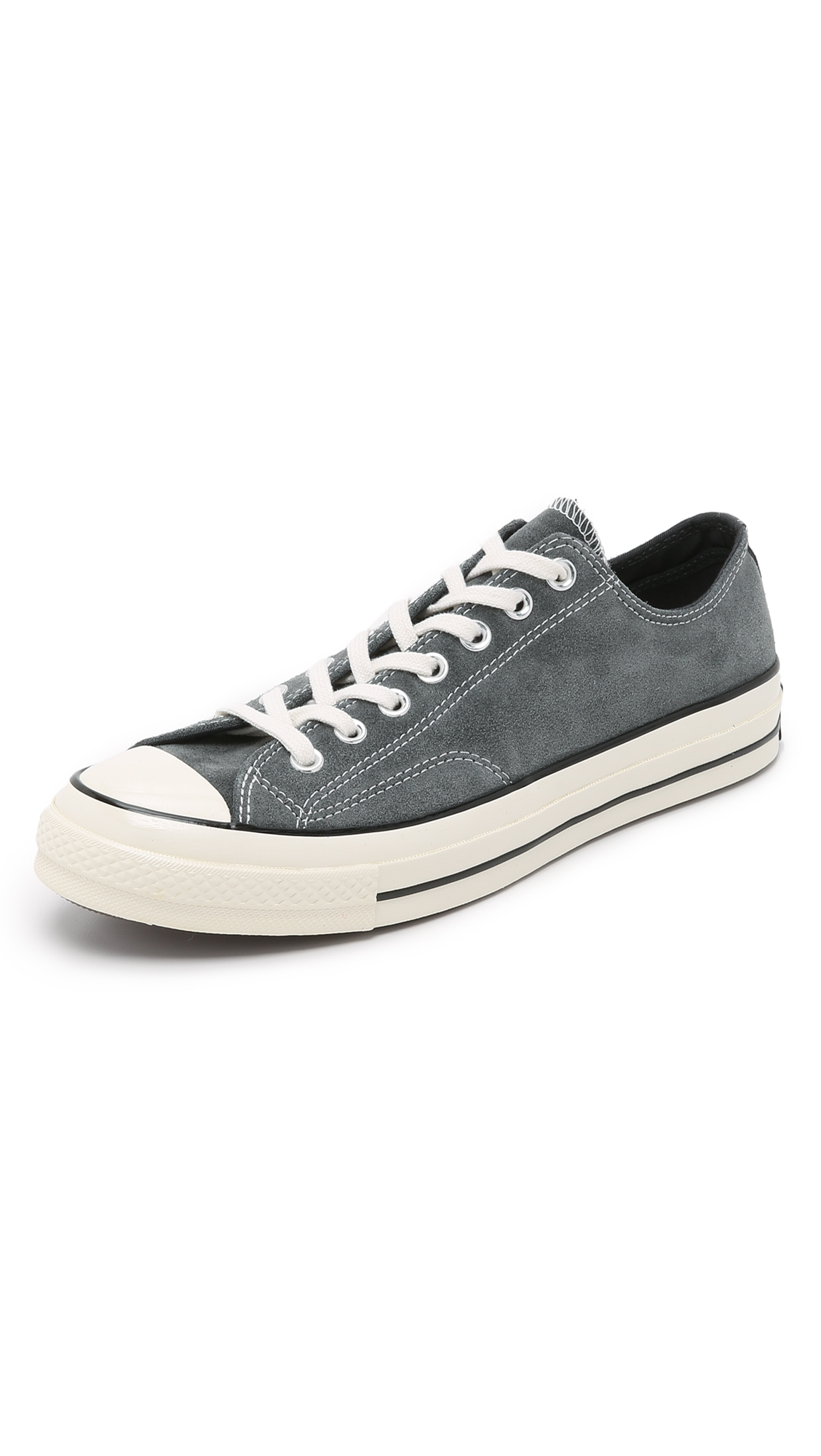 Converse Chuck Taylor All Star 70s Suede Sneakers In Gray