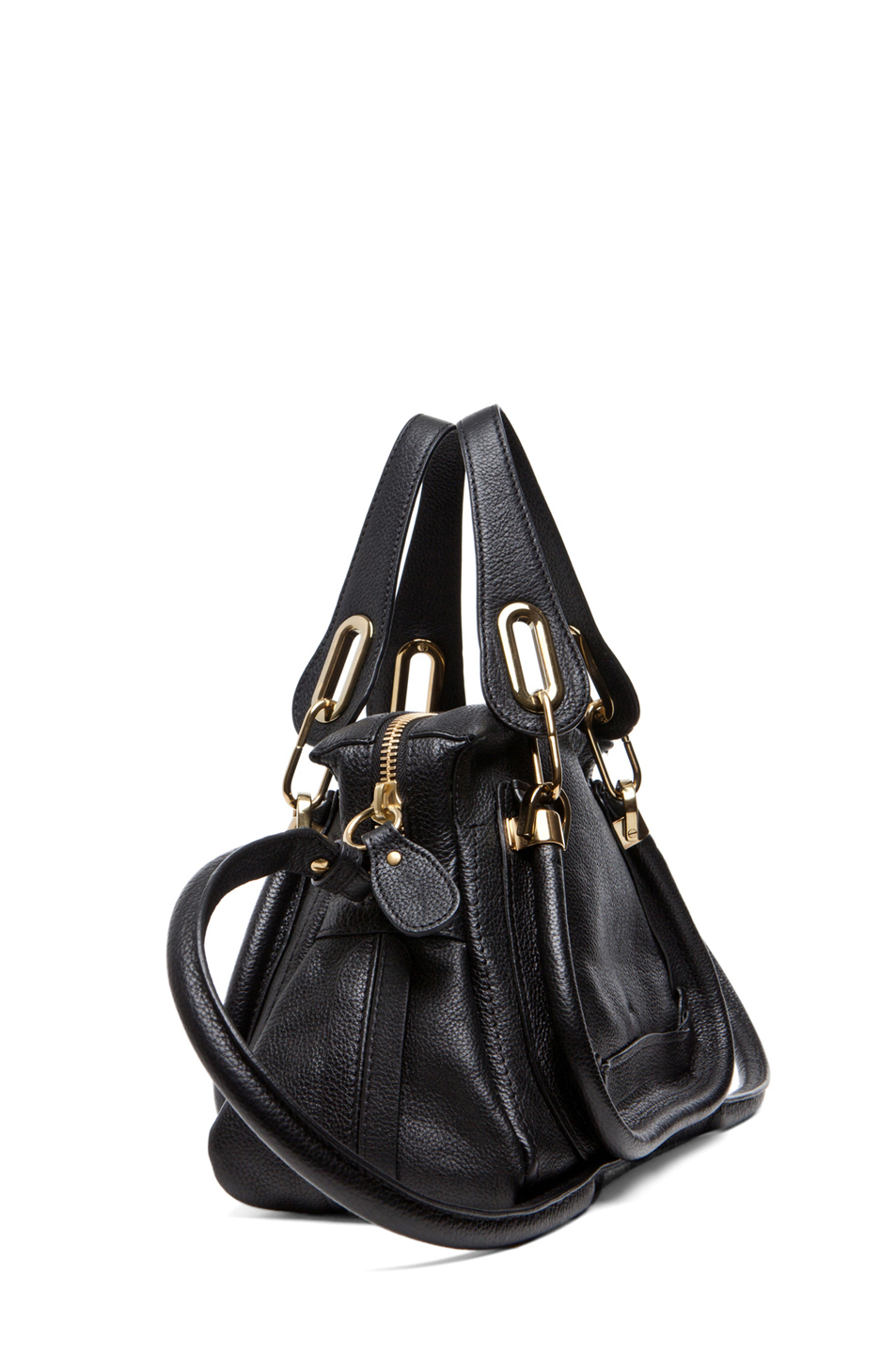 chloe bags online - Chlo�� Paraty Small Shoulder Bag in Black | Lyst