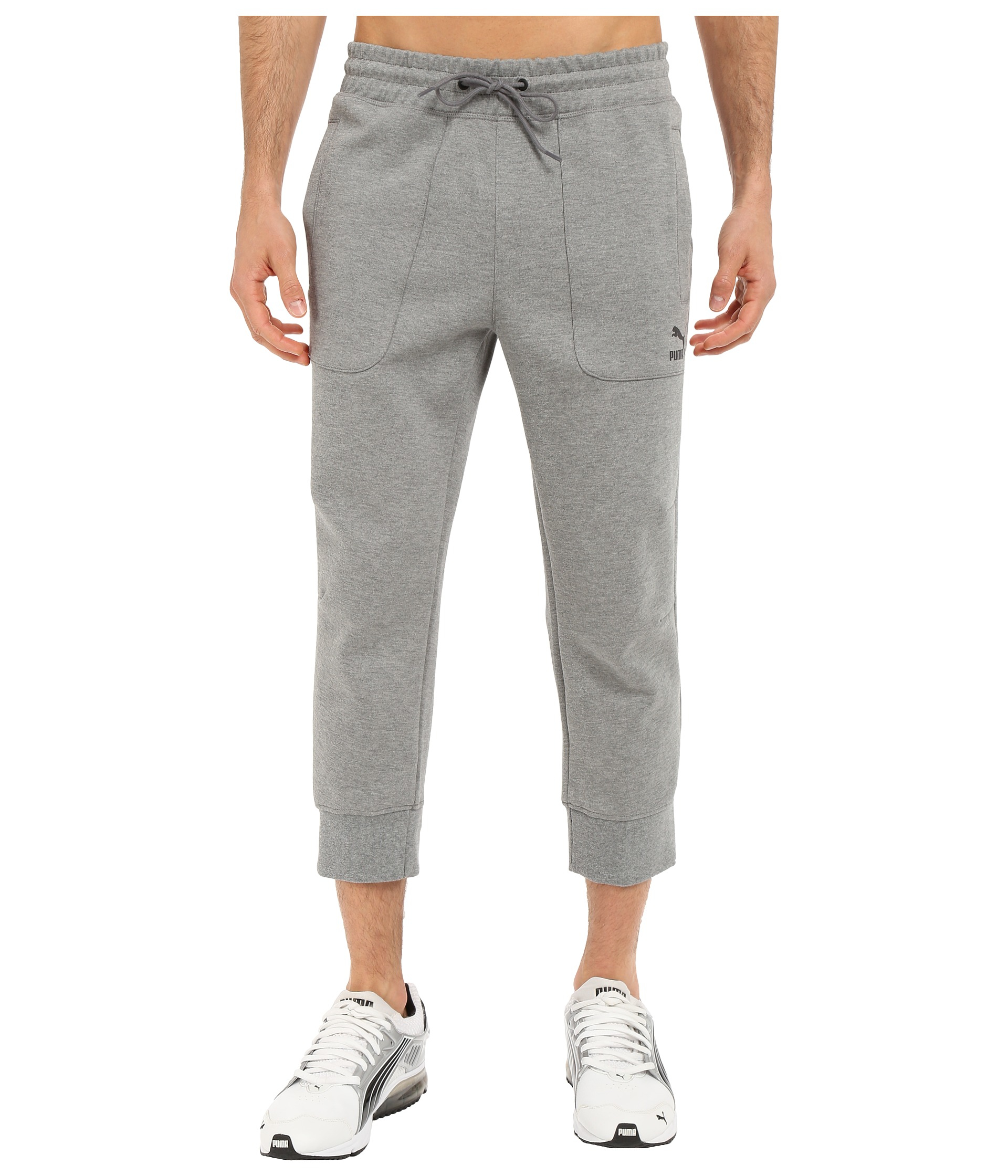 bad07388e6bd Lyst - PUMA Evo Sweat 3 4 Pants in Gray for Men