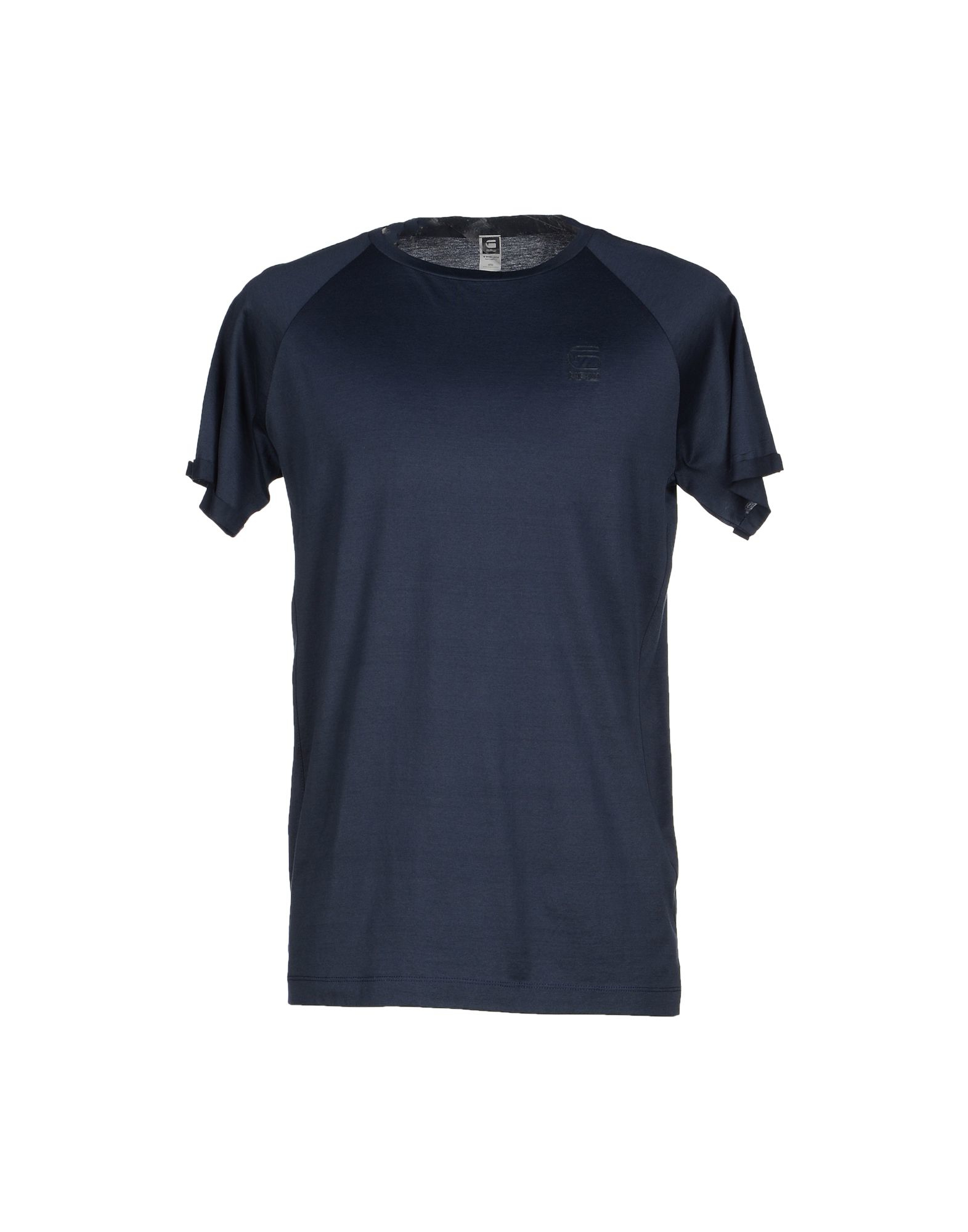 g star raw t shirt in blue for men dark blue lyst. Black Bedroom Furniture Sets. Home Design Ideas