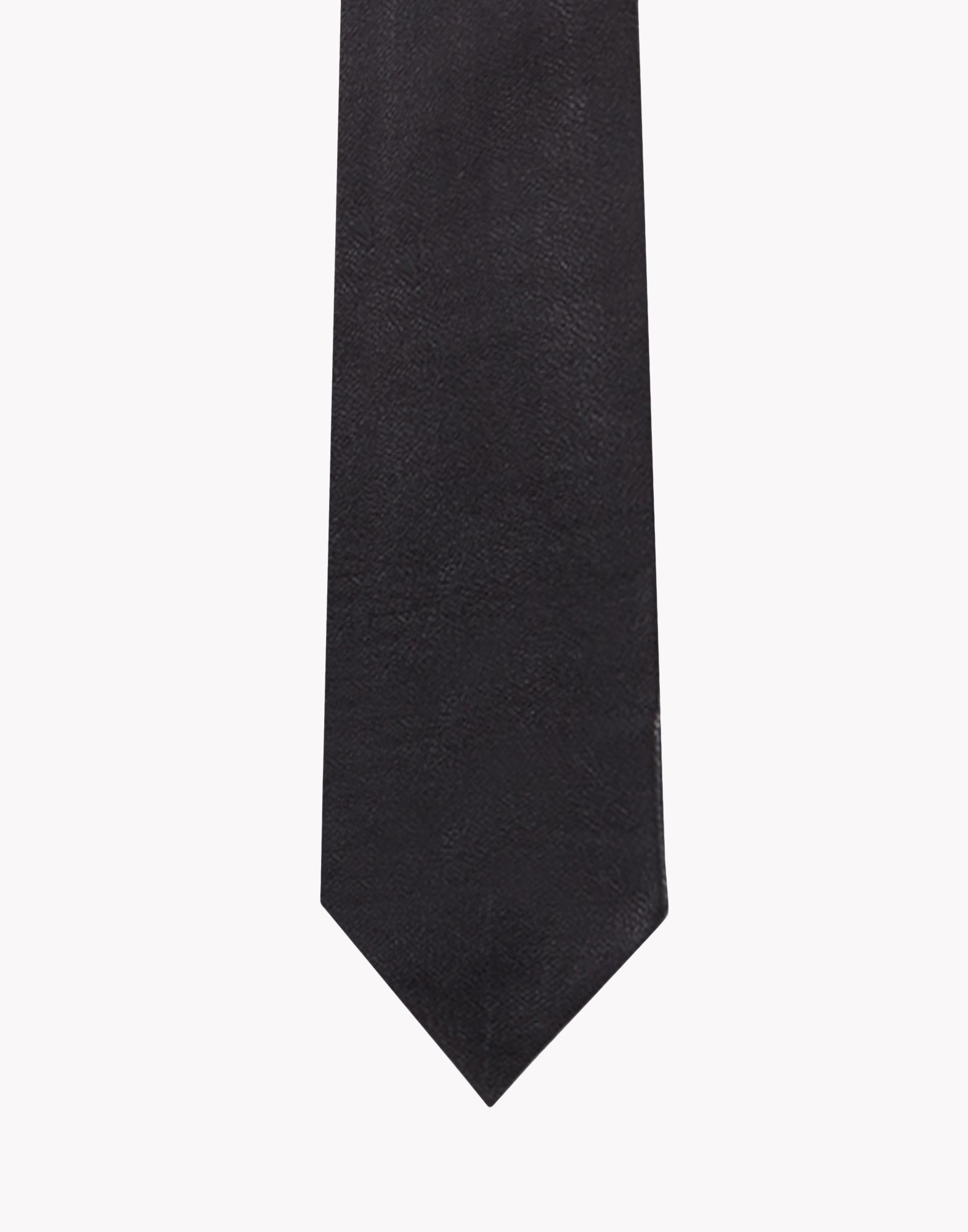 dsquared 178 leather tie in black for lyst