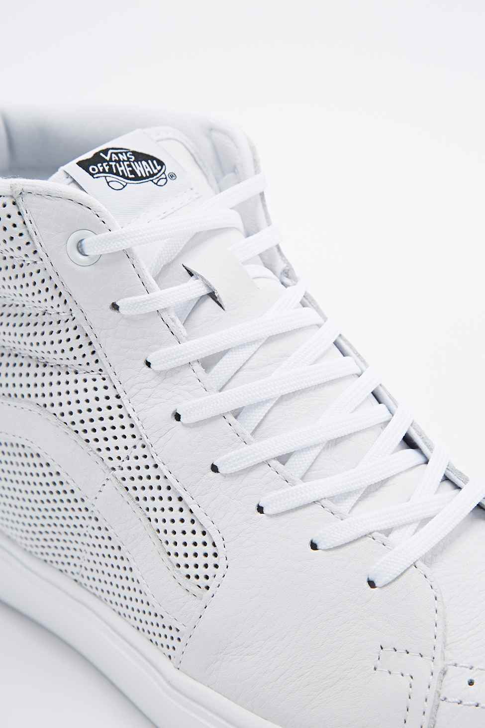 a504b1d59c Vans Sk8-hi Lite Trainers In Perforated White in White for Men - Lyst